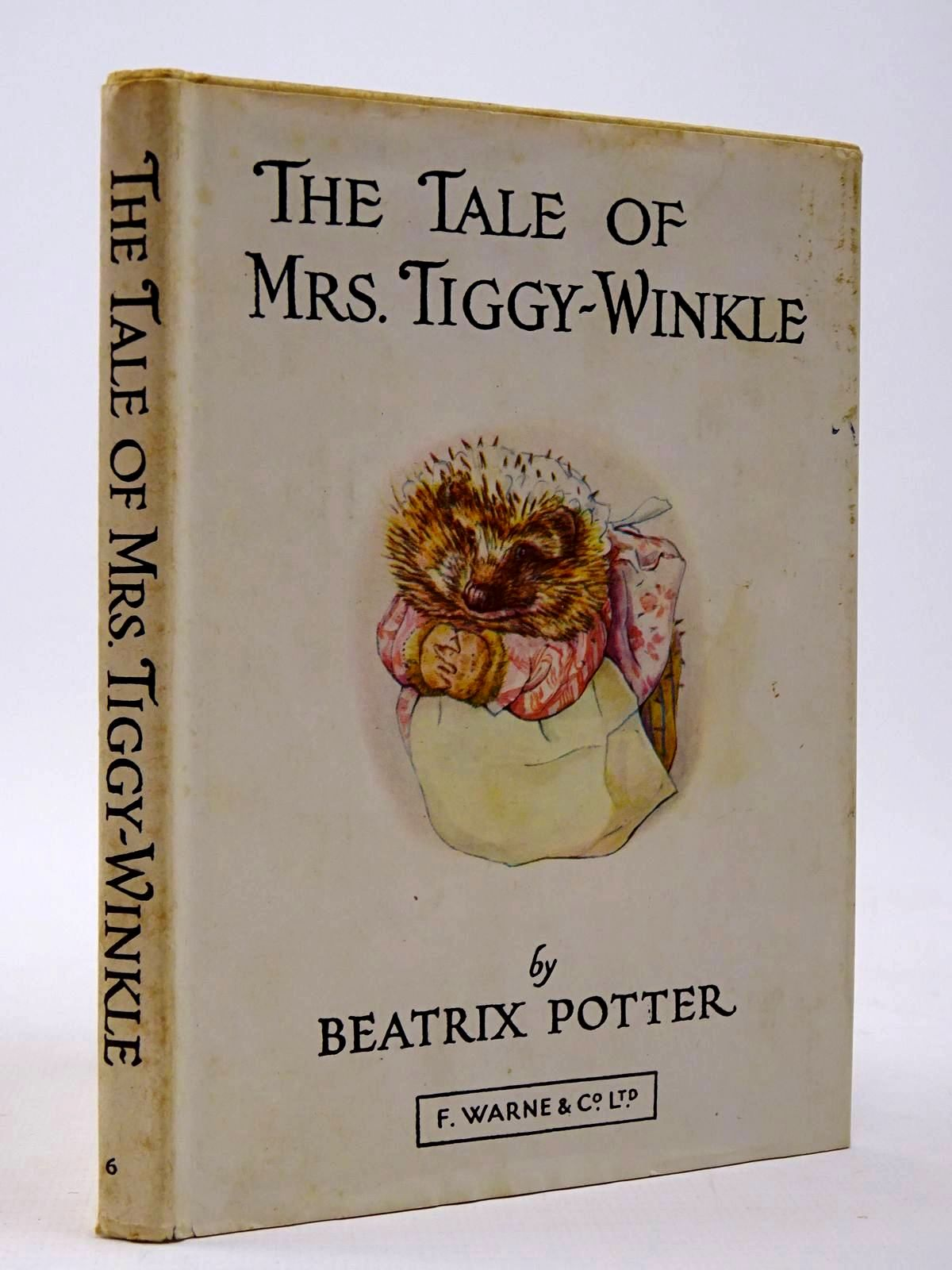 Photo of THE TALE OF MRS. TIGGY-WINKLE written by Potter, Beatrix illustrated by Potter, Beatrix published by Frederick Warne & Co Ltd. (STOCK CODE: 2129988)  for sale by Stella & Rose's Books