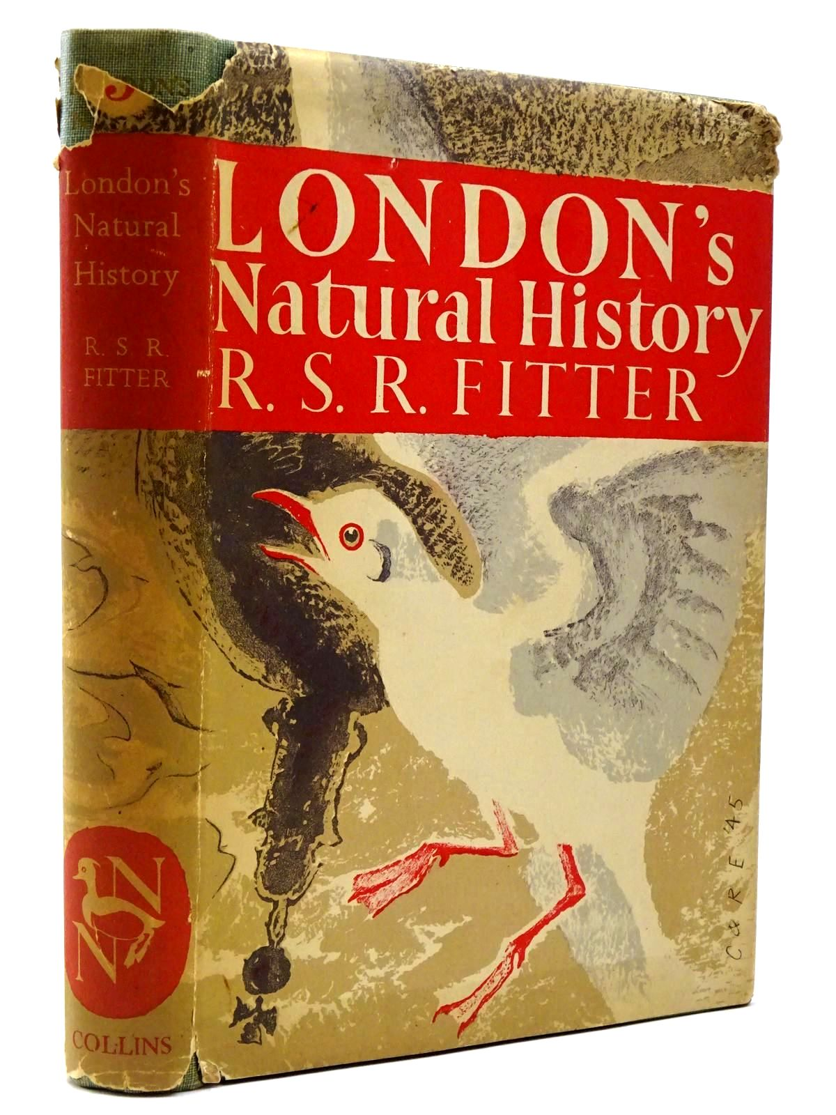 Photo of LONDON'S NATURAL HISTORY (NN 3) written by Fitter, R.S.R. illustrated by Hosking, Eric published by Collins (STOCK CODE: 2129999)  for sale by Stella & Rose's Books