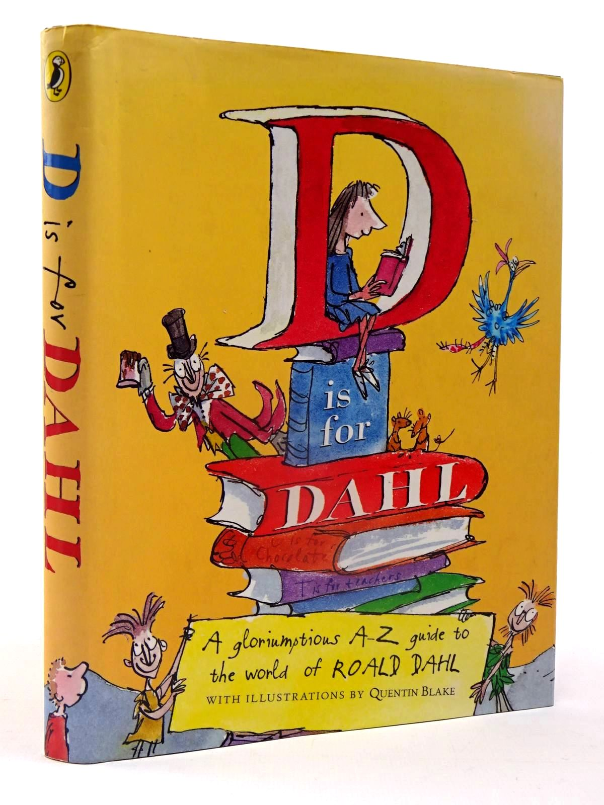 Photo of D IS FOR DAHL written by Cooling, Wendy illustrated by Blake, Quentin published by Puffin Books (STOCK CODE: 2130098)  for sale by Stella & Rose's Books