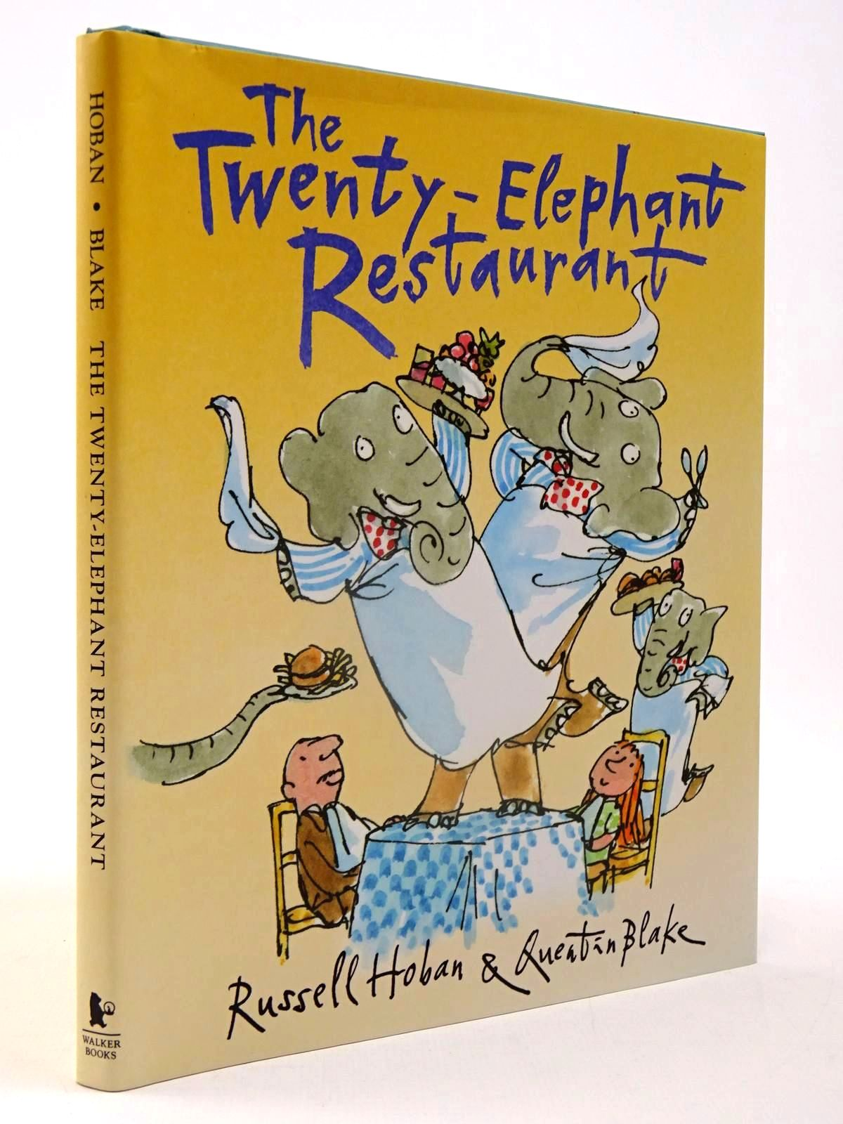 Photo of THE TWENTY ELEPHANT RESTAURANT written by Hoban, Russell illustrated by Blake, Quentin (STOCK CODE: 2130099)  for sale by Stella & Rose's Books