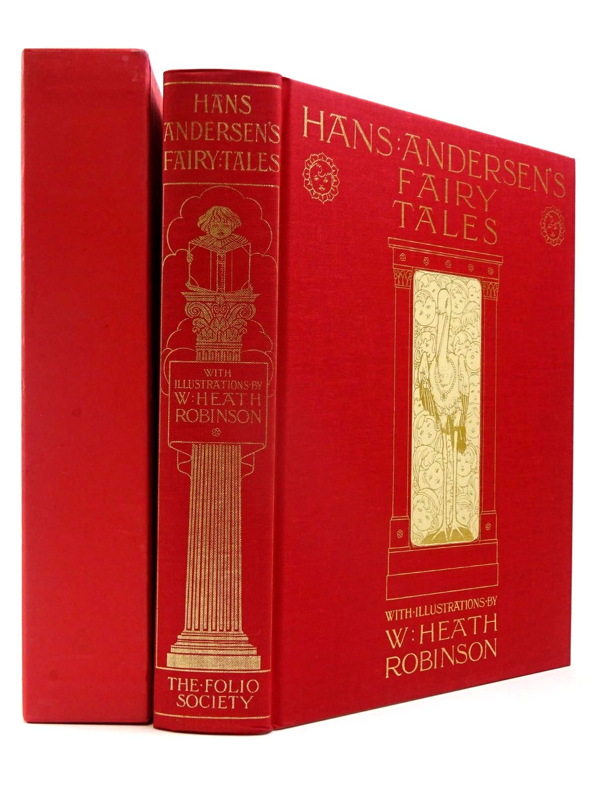 Photo of HANS ANDERSEN'S FAIRY TALES written by Andersen, Hans Christian illustrated by Robinson, W. Heath published by Folio Society (STOCK CODE: 2130106)  for sale by Stella & Rose's Books