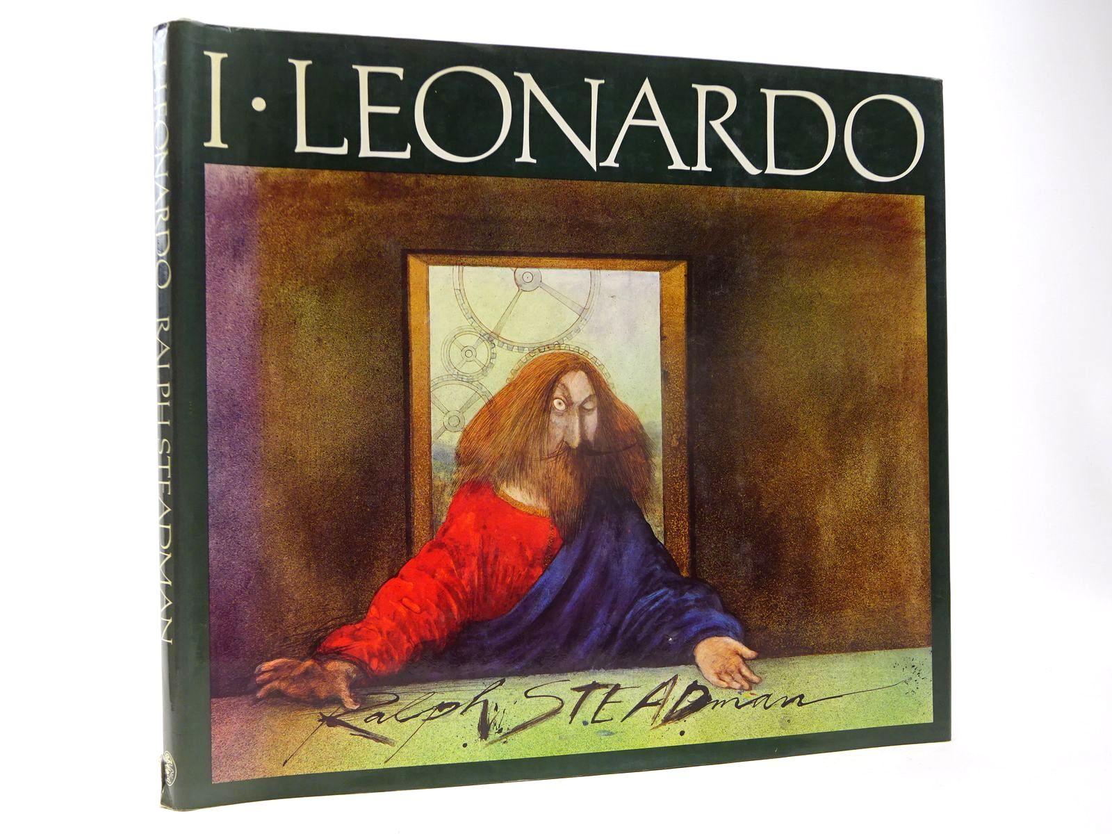 Photo of I LEONARDO written by Steadman, Ralph illustrated by Steadman, Ralph published by Jonathan Cape (STOCK CODE: 2130114)  for sale by Stella & Rose's Books