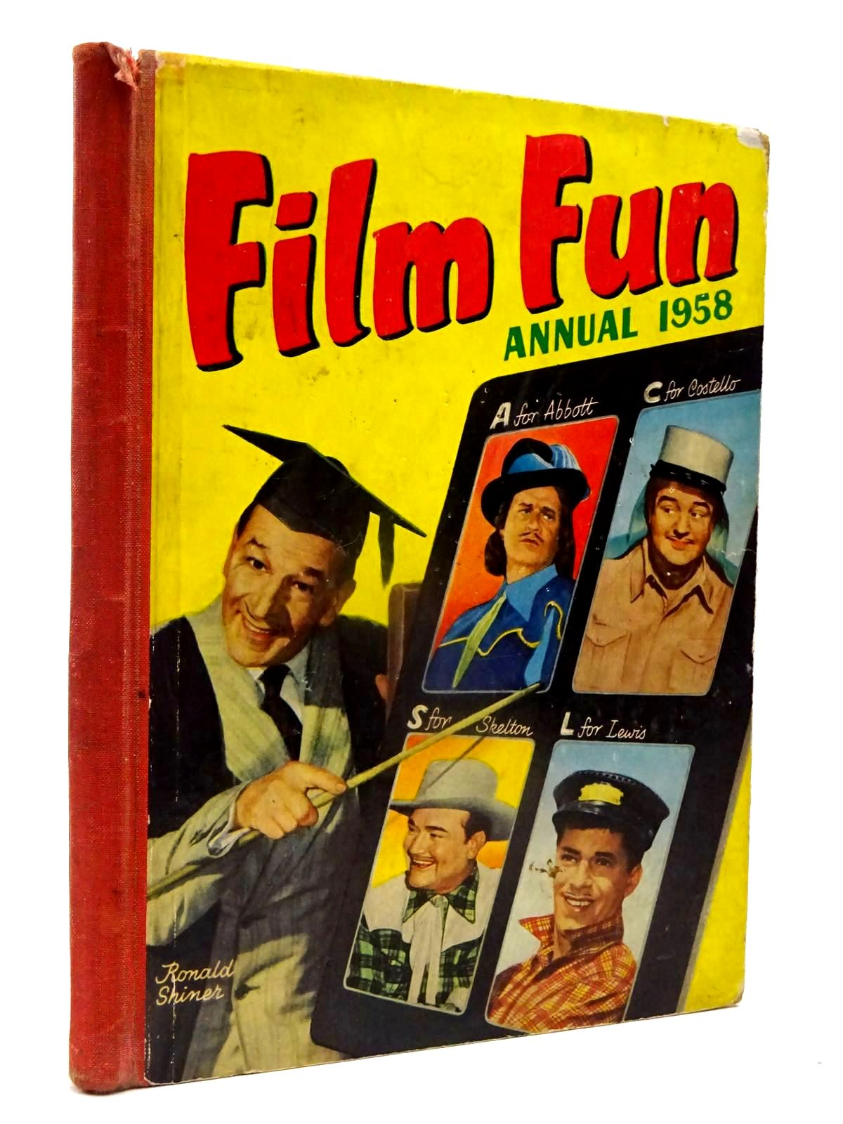 Photo of FILM FUN ANNUAL 1958- Stock Number: 2130118