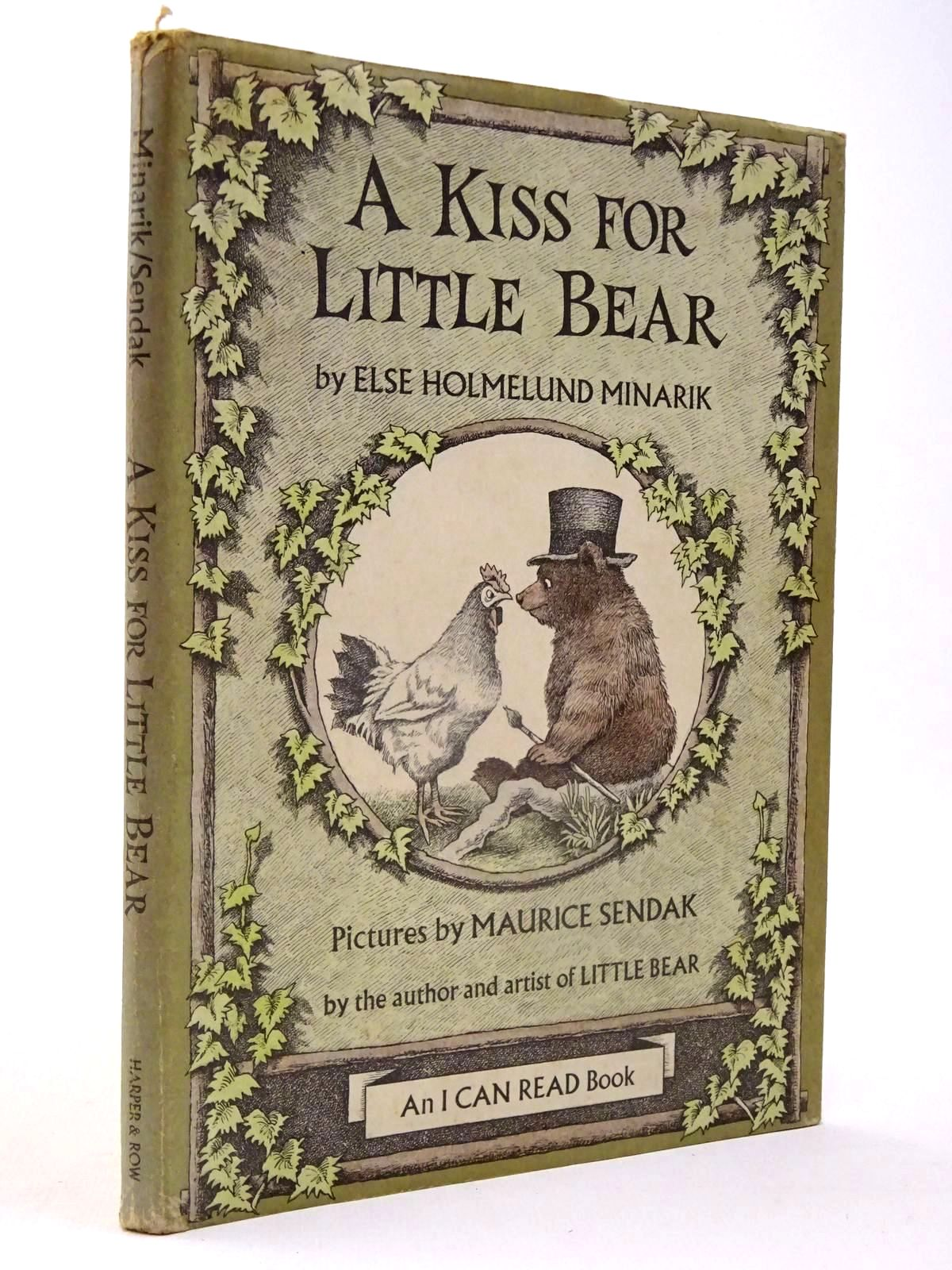 Photo of A KISS FOR LITTLE BEAR written by Minarik, Else Holmelund illustrated by Sendak, Maurice published by Harper & Row (STOCK CODE: 2130161)  for sale by Stella & Rose's Books