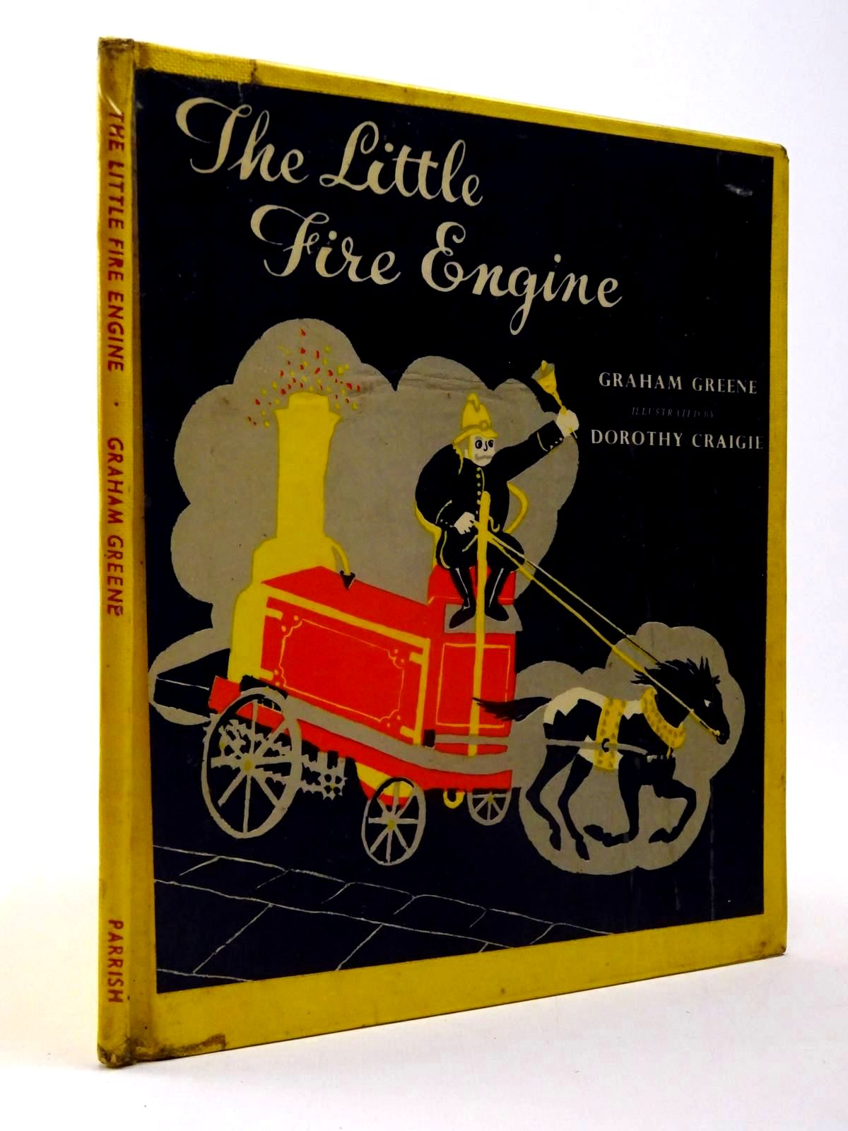 Photo of THE LITTLE FIRE ENGINE written by Greene, Graham illustrated by Craigie, Dorothy published by Max Parrish (STOCK CODE: 2130162)  for sale by Stella & Rose's Books