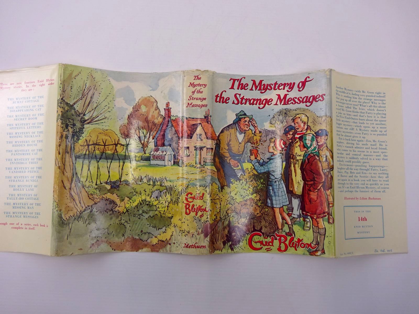 Photo of THE MYSTERY OF THE STRANGE MESSAGES written by Blyton, Enid illustrated by Buchanan, Lilian published by Methuen & Co. Ltd. (STOCK CODE: 2130163)  for sale by Stella & Rose's Books