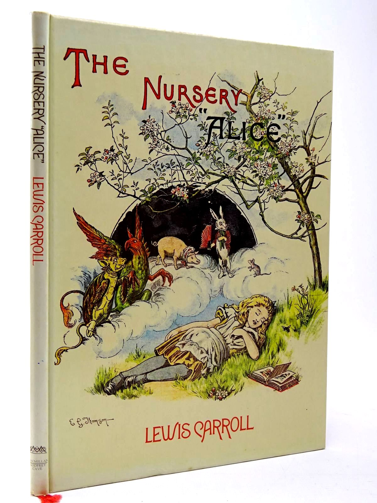 Photo of THE NURSERY ALICE written by Carroll, Lewis illustrated by Tenniel, John Thomson, E. Gertrude published by MacMillan Publishers Ltd., Godfrey Cave (STOCK CODE: 2130193)  for sale by Stella & Rose's Books