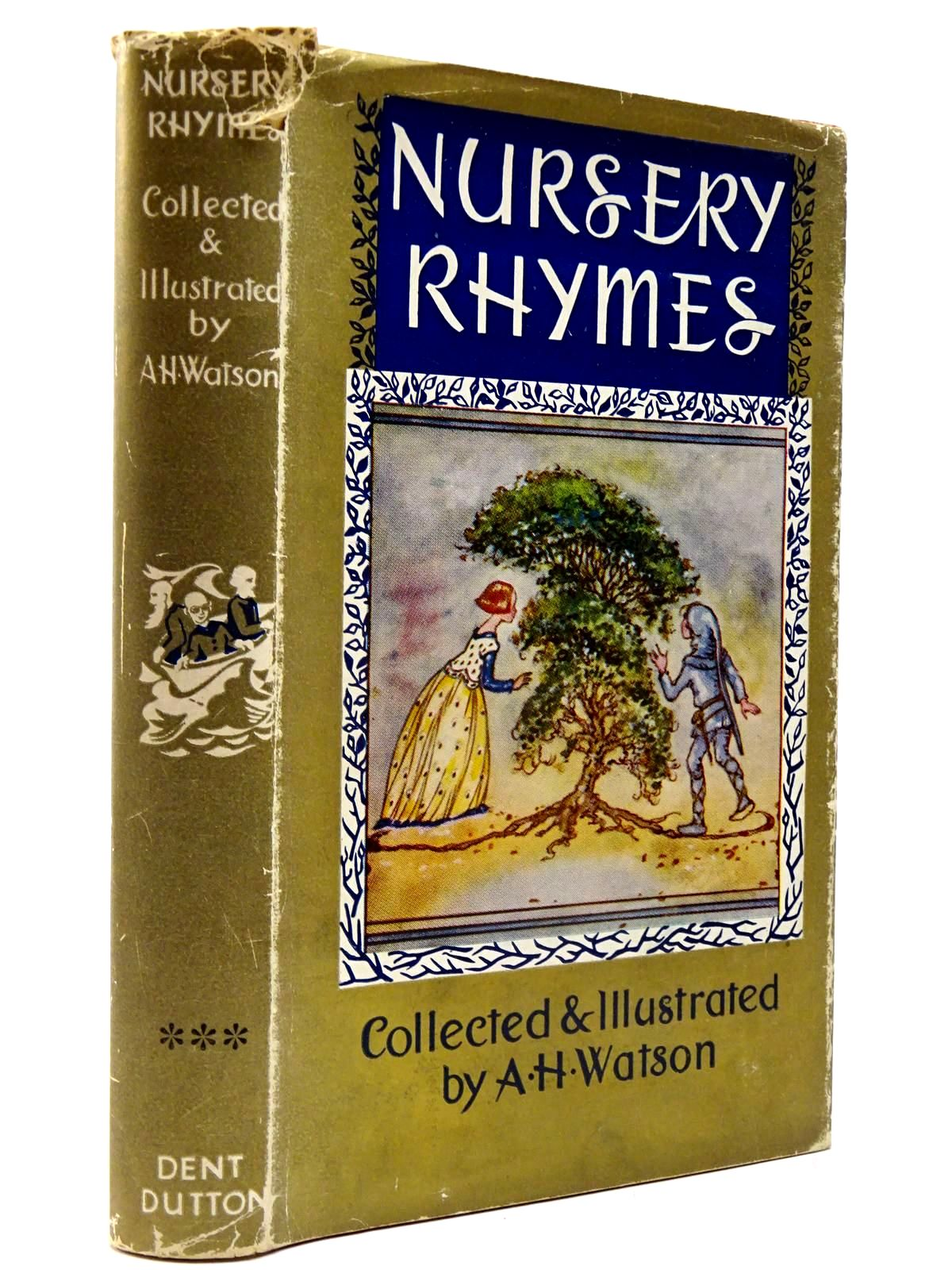 Photo of NURSERY RHYMES illustrated by Watson, A.H. published by J.M. Dent & Sons Ltd. (STOCK CODE: 2130210)  for sale by Stella & Rose's Books