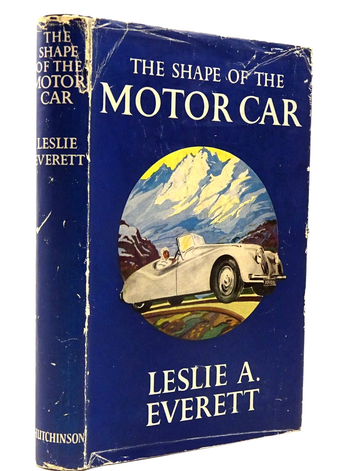 Photo of THE SHAPE OF THE MOTOR CAR written by Everett, Leslie A. published by Hutchinson (STOCK CODE: 2130214)  for sale by Stella & Rose's Books