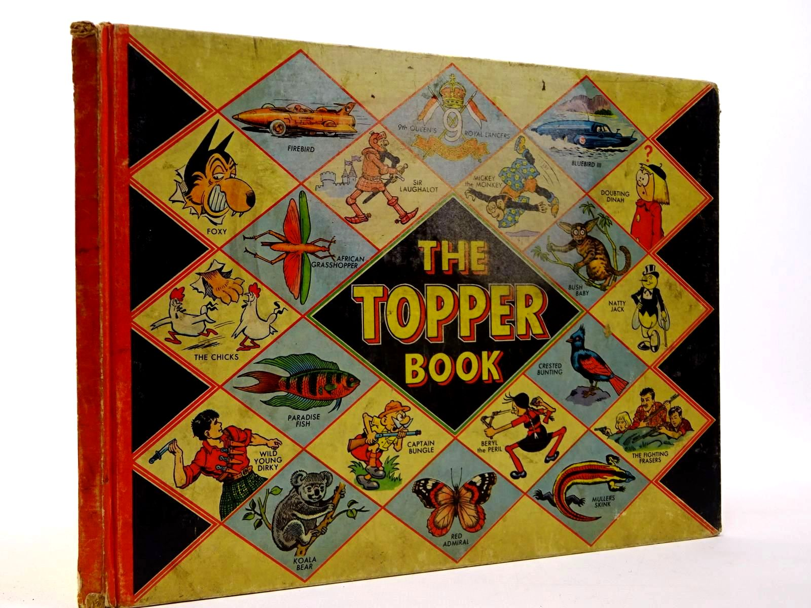 Photo of THE TOPPER BOOK 1958 published by D.C. Thomson & Co Ltd., John Leng (STOCK CODE: 2130216)  for sale by Stella & Rose's Books