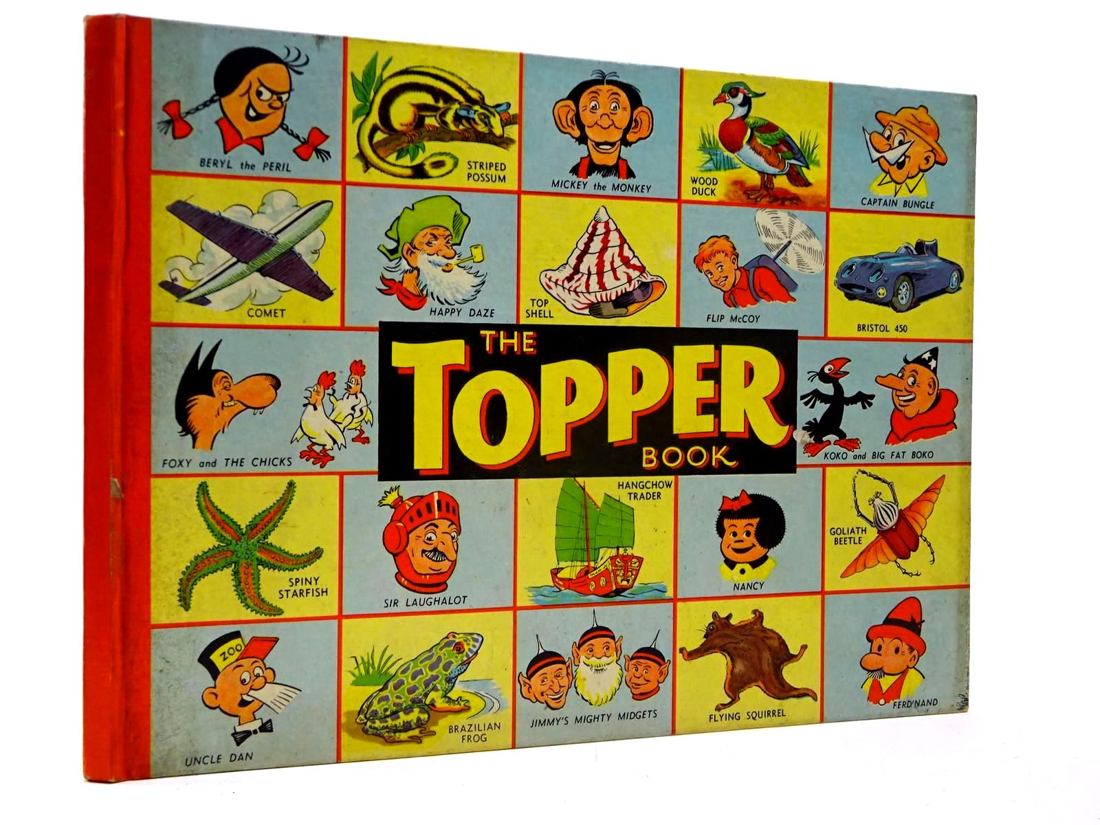 Photo of THE TOPPER BOOK 1957- Stock Number: 2130217