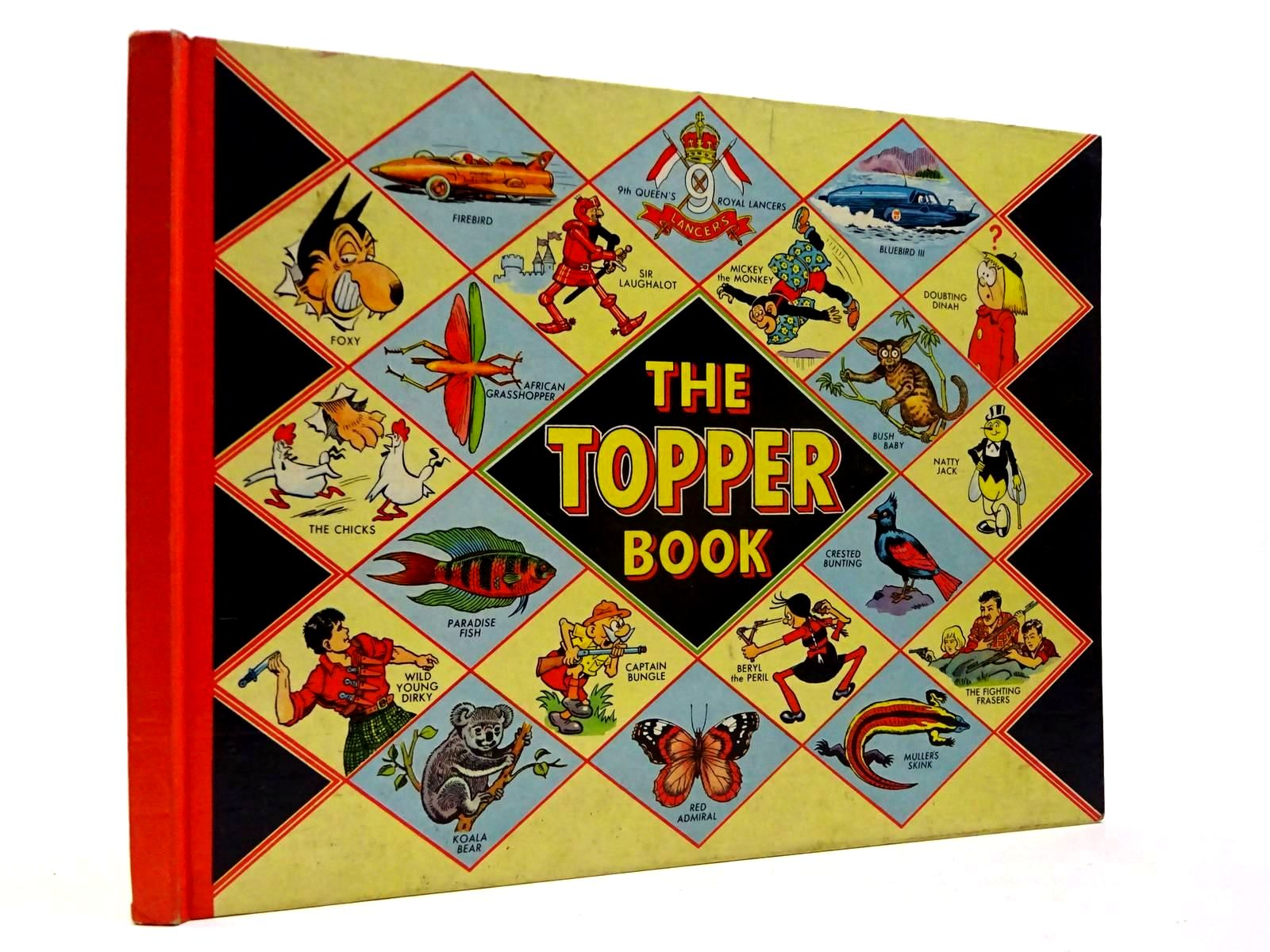 Photo of THE TOPPER BOOK 1958 published by D.C. Thomson & Co Ltd., John Leng (STOCK CODE: 2130220)  for sale by Stella & Rose's Books