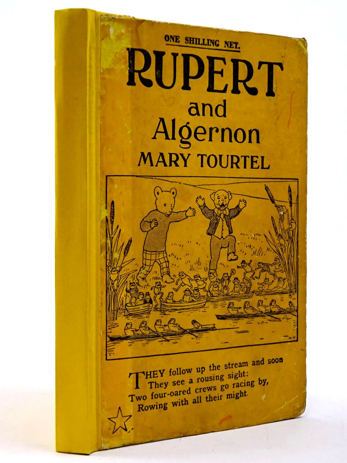 Photo of RUPERT AND ALGERNON - RUPERT LITTLE BEAR LIBRARY No. 35- Stock Number: 2130223