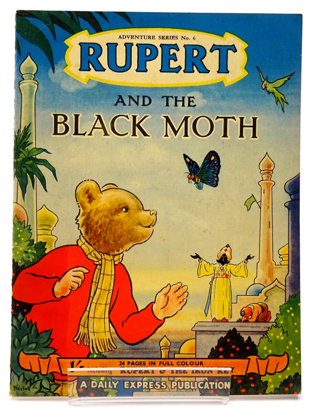 Photo of RUPERT ADVENTURE SERIES No. 6 - RUPERT AND THE BLACK MOTH- Stock Number: 2130225