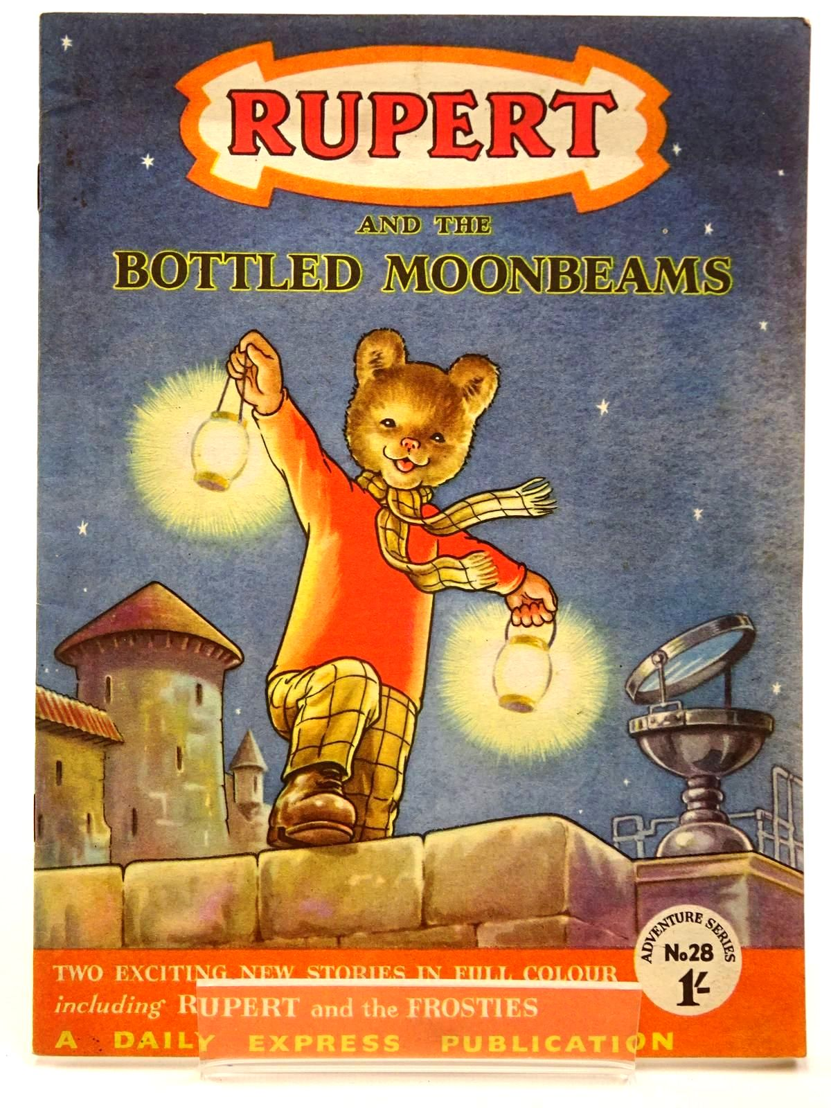 Photo of RUPERT ADVENTURE SERIES No. 28 - RUPERT AND THE BOTTLED MOONBEAMS- Stock Number: 2130228