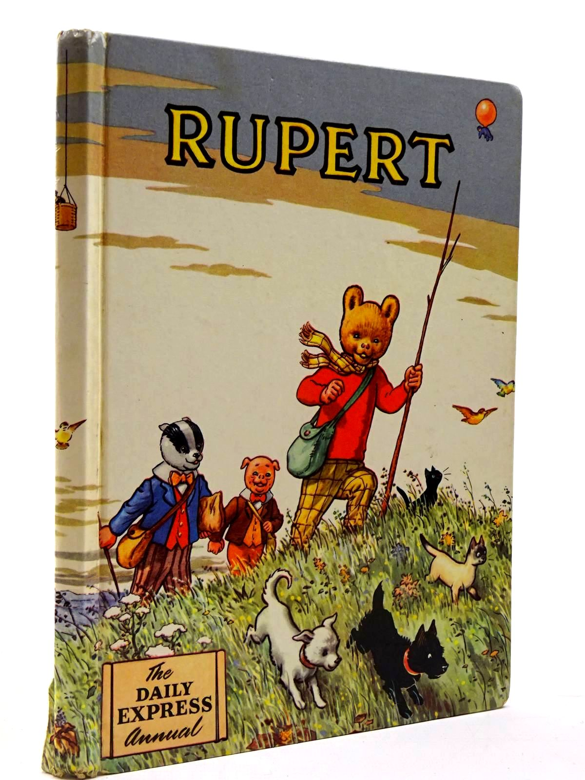 Photo of RUPERT ANNUAL 1955 written by Bestall, Alfred illustrated by Bestall, Alfred published by Daily Express (STOCK CODE: 2130231)  for sale by Stella & Rose's Books