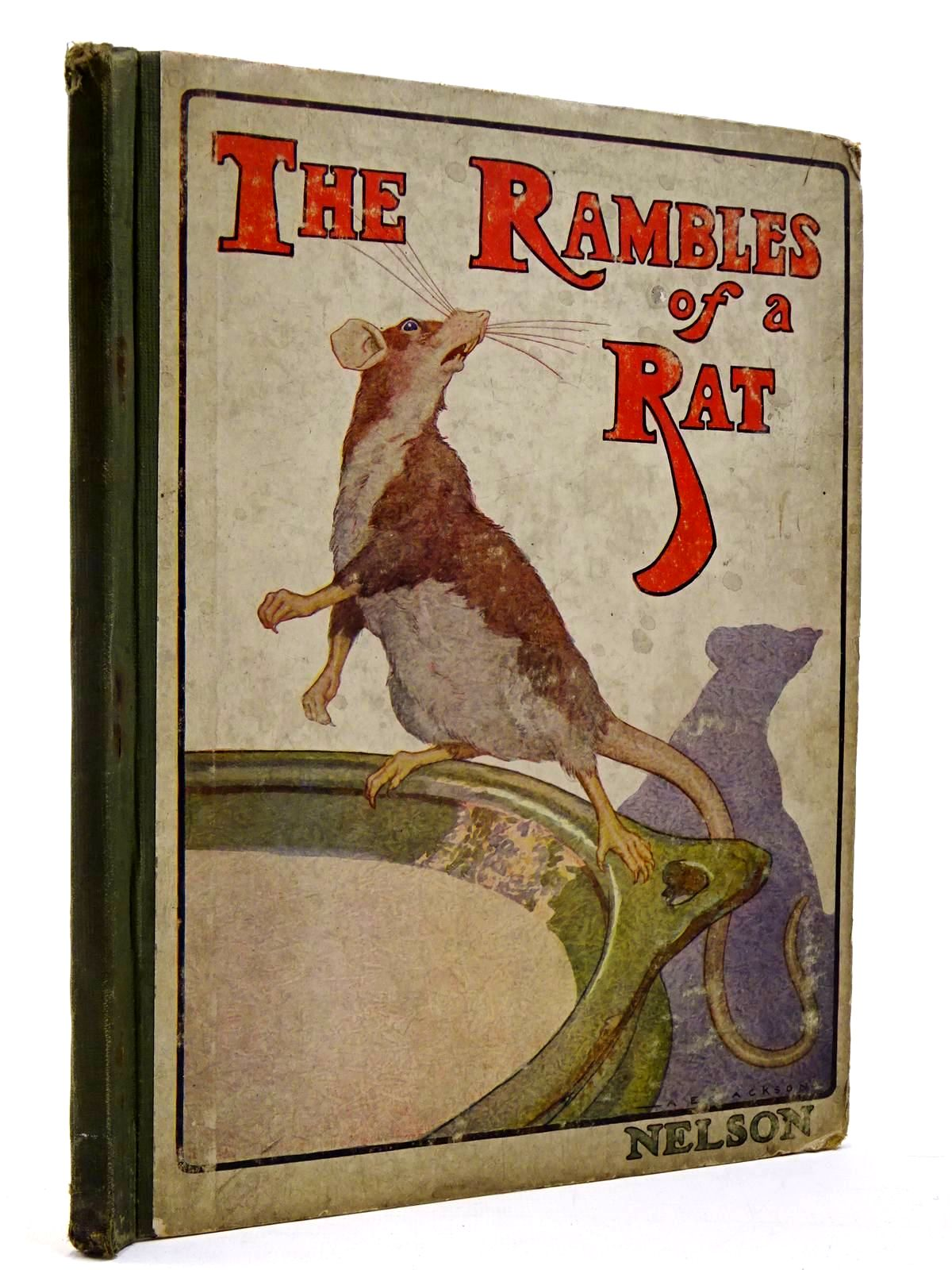 Photo of THE RAMBLES OF A RAT written by A.L.O.E., <br />Tucker, Charlotte Maria published by Thomas Nelson and Sons Ltd. (STOCK CODE: 2130232)  for sale by Stella & Rose's Books
