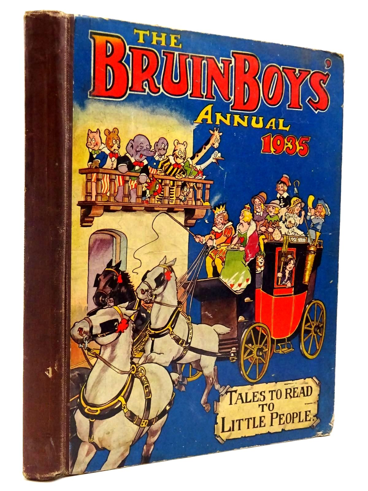 Photo of THE BRUIN BOYS' ANNUAL 1935- Stock Number: 2130256