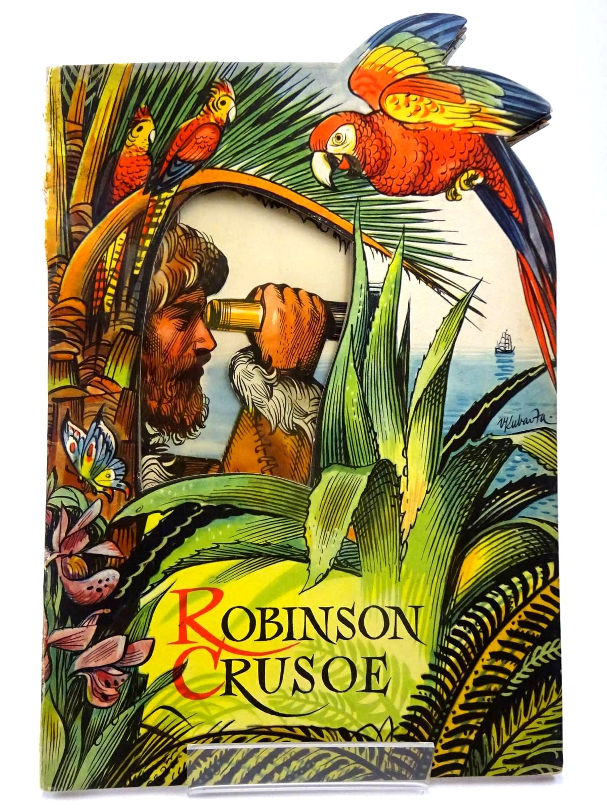 Photo of ROBINSON CRUSOE illustrated by Kubasta, Vojtech published by Bancroft & Co.(Publishers) Ltd. (STOCK CODE: 2130266)  for sale by Stella & Rose's Books