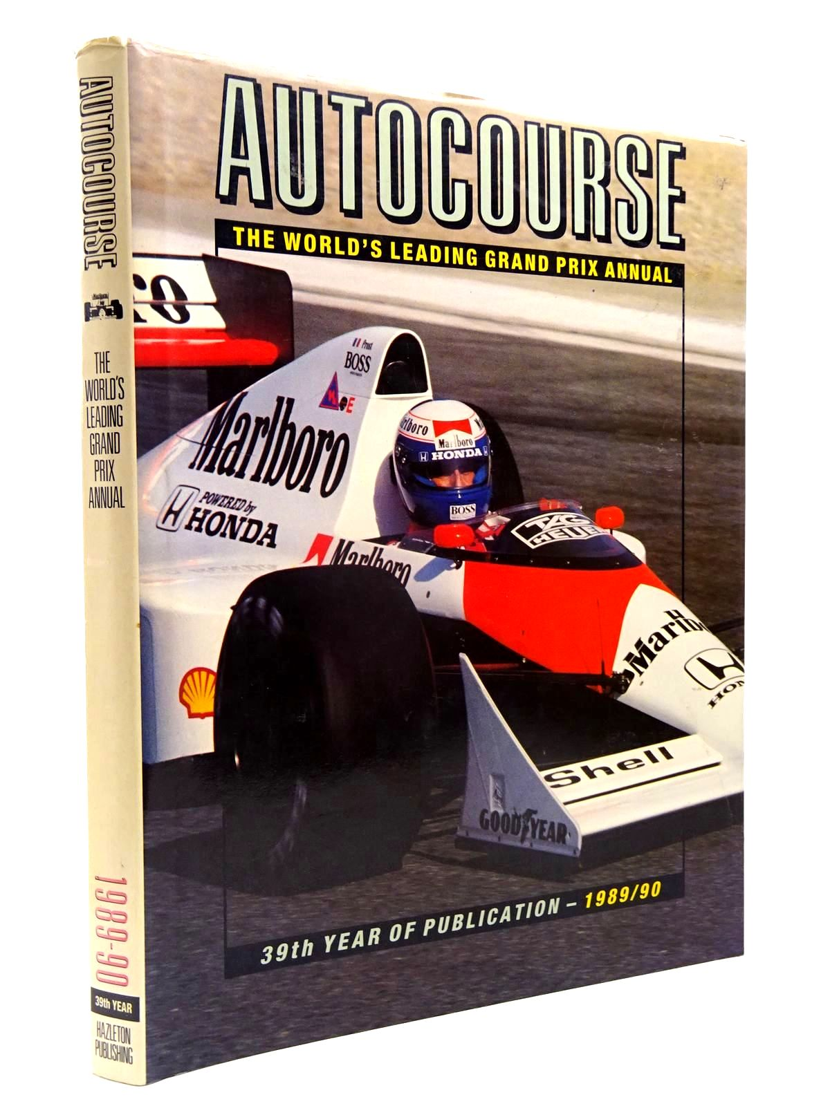 Photo of AUTOCOURSE 1989-90 written by Henry, Alan published by Hazleton Publishing (STOCK CODE: 2130293)  for sale by Stella & Rose's Books