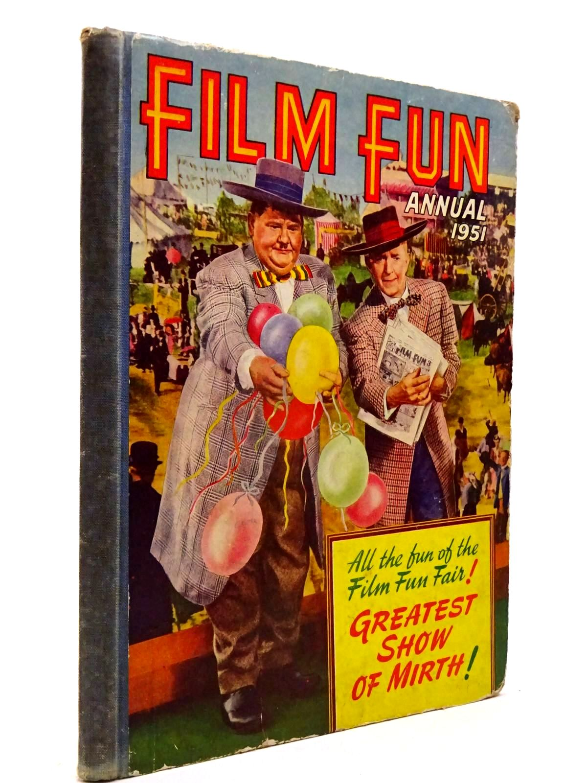 Photo of FILM FUN ANNUAL 1951 published by The Amalgamated Press (STOCK CODE: 2130307)  for sale by Stella & Rose's Books