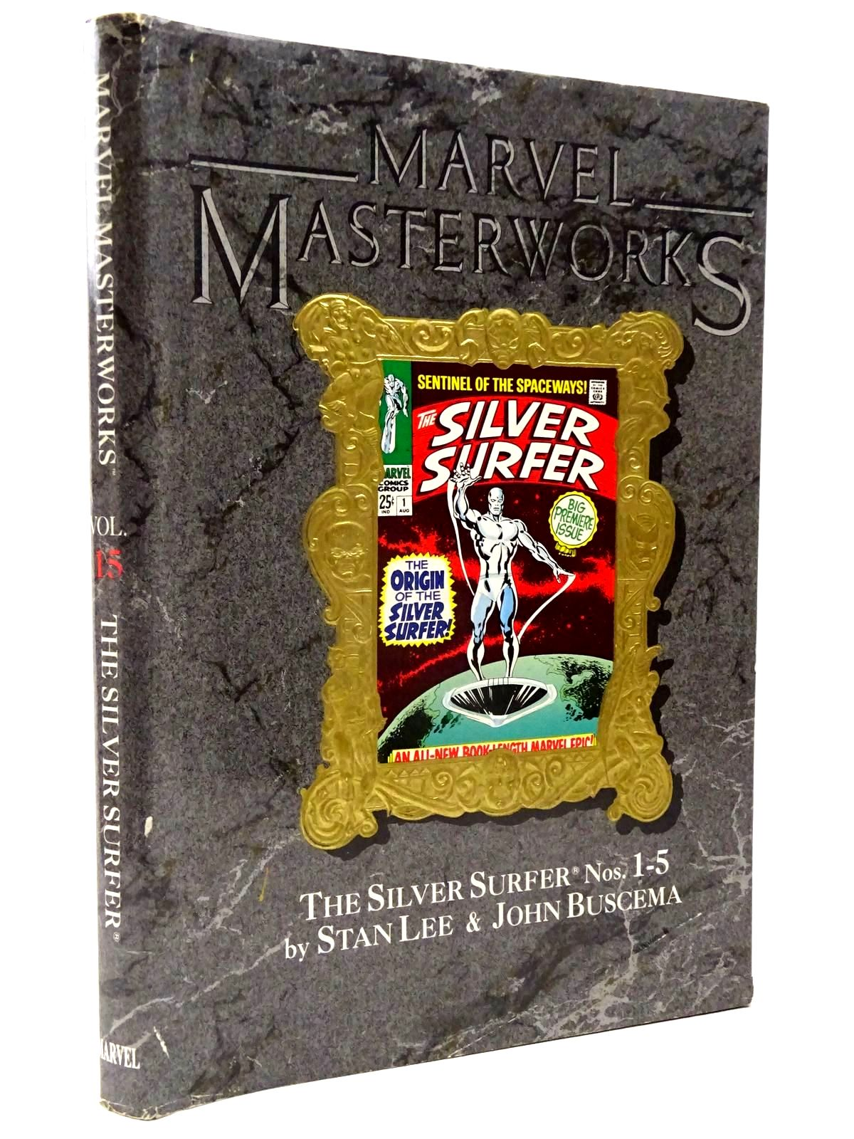 Photo of MARVEL MASTERWORKS VOLUME 15 - THE SILVER SURFER written by Lee, Stan Buscema, John published by Marvel Comics Limited (STOCK CODE: 2130316)  for sale by Stella & Rose's Books