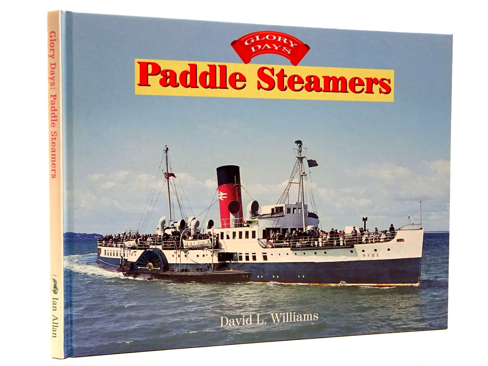 Photo of PADDLE STEAMERS written by Williams, David L. published by Ian Allan (STOCK CODE: 2130375)  for sale by Stella & Rose's Books