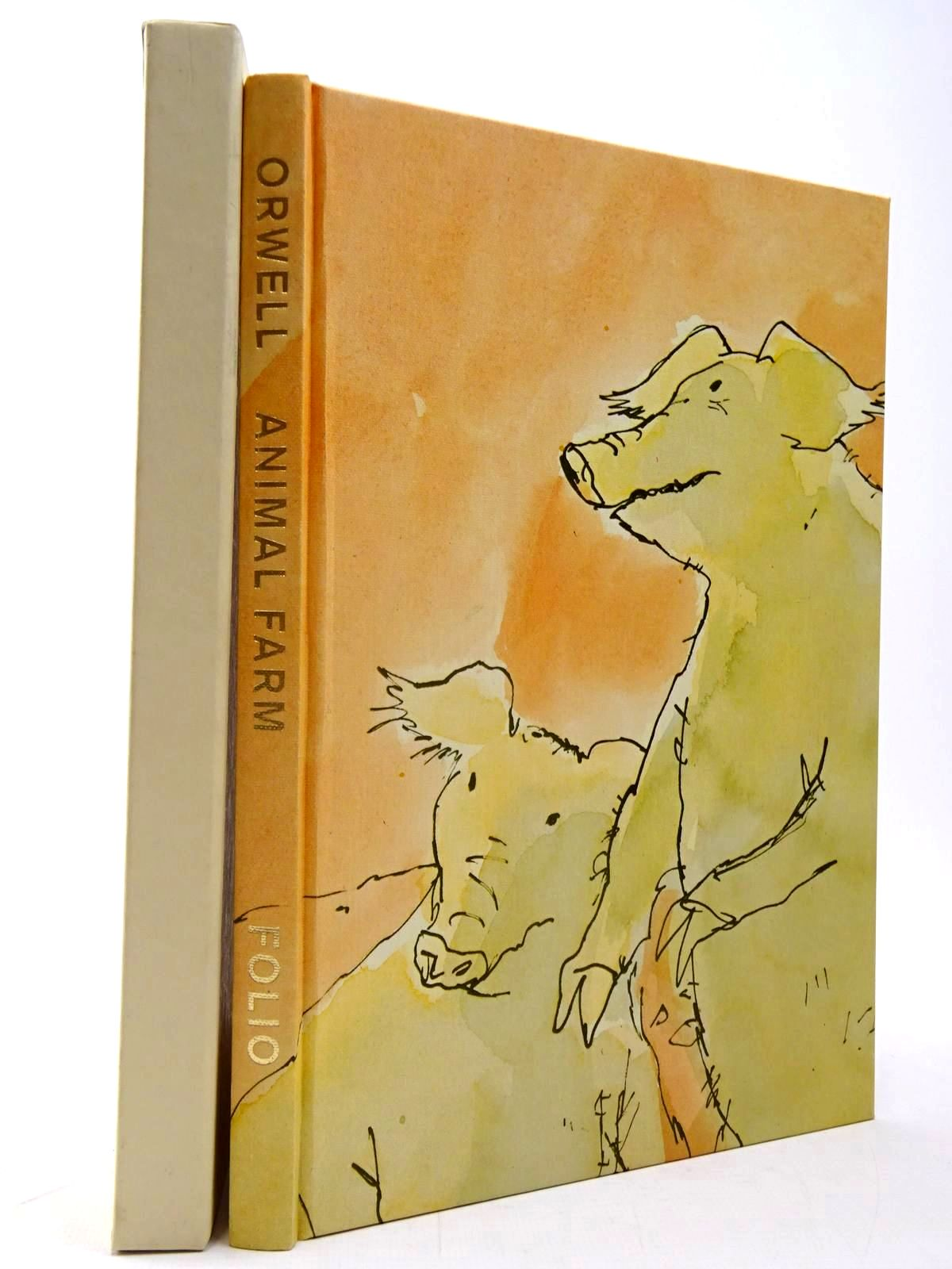 Photo of ANIMAL FARM written by Orwell, George illustrated by Blake, Quentin published by Folio Society (STOCK CODE: 2130382)  for sale by Stella & Rose's Books