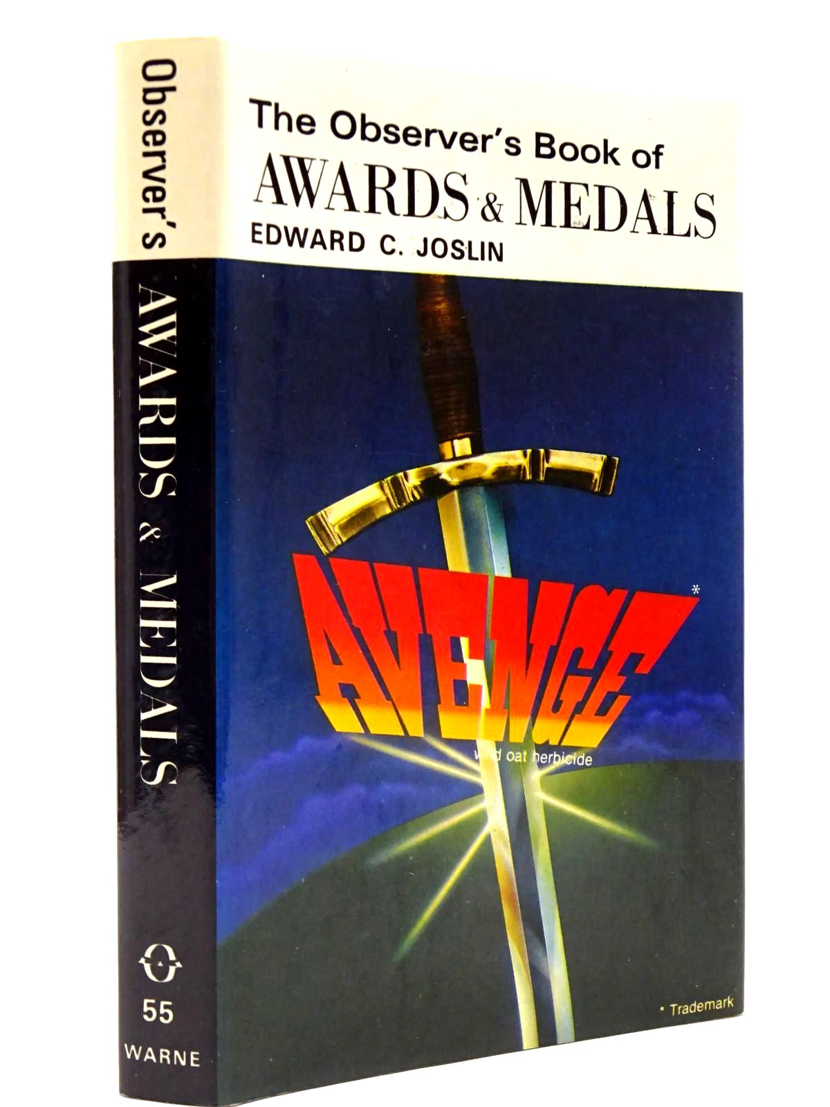 Photo of THE OBSERVER'S BOOK OF BRITISH AWARDS AND MEDALS (CYANAMID WRAPPER) written by Joslin, Edward C. published by Frederick Warne & Co Ltd. (STOCK CODE: 2130411)  for sale by Stella & Rose's Books