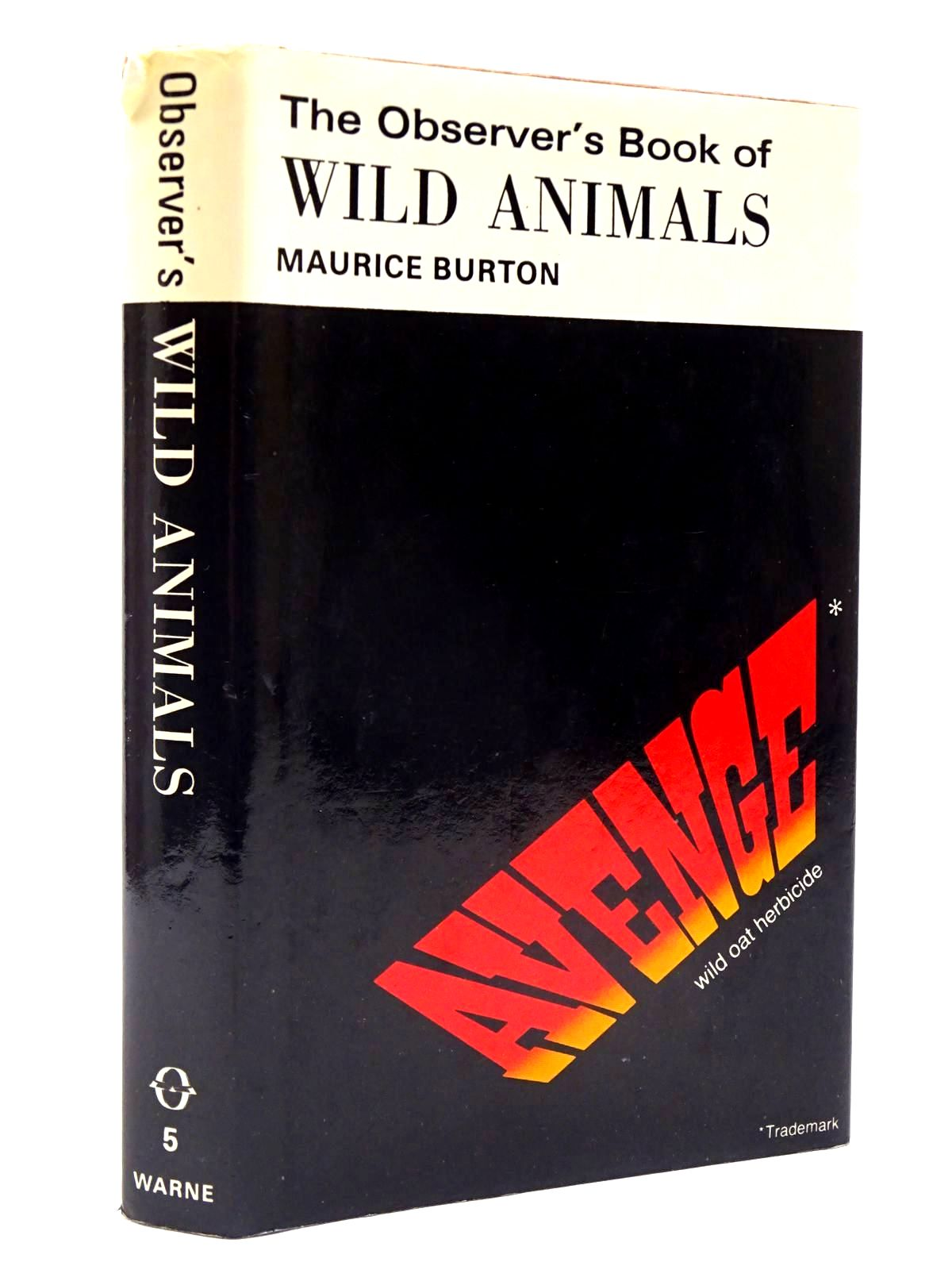 Photo of THE OBSERVER'S BOOK OF WILD ANIMALS (CYANAMID WRAPPER) written by Burton, Maurice published by Frederick Warne & Co Ltd. (STOCK CODE: 2130414)  for sale by Stella & Rose's Books