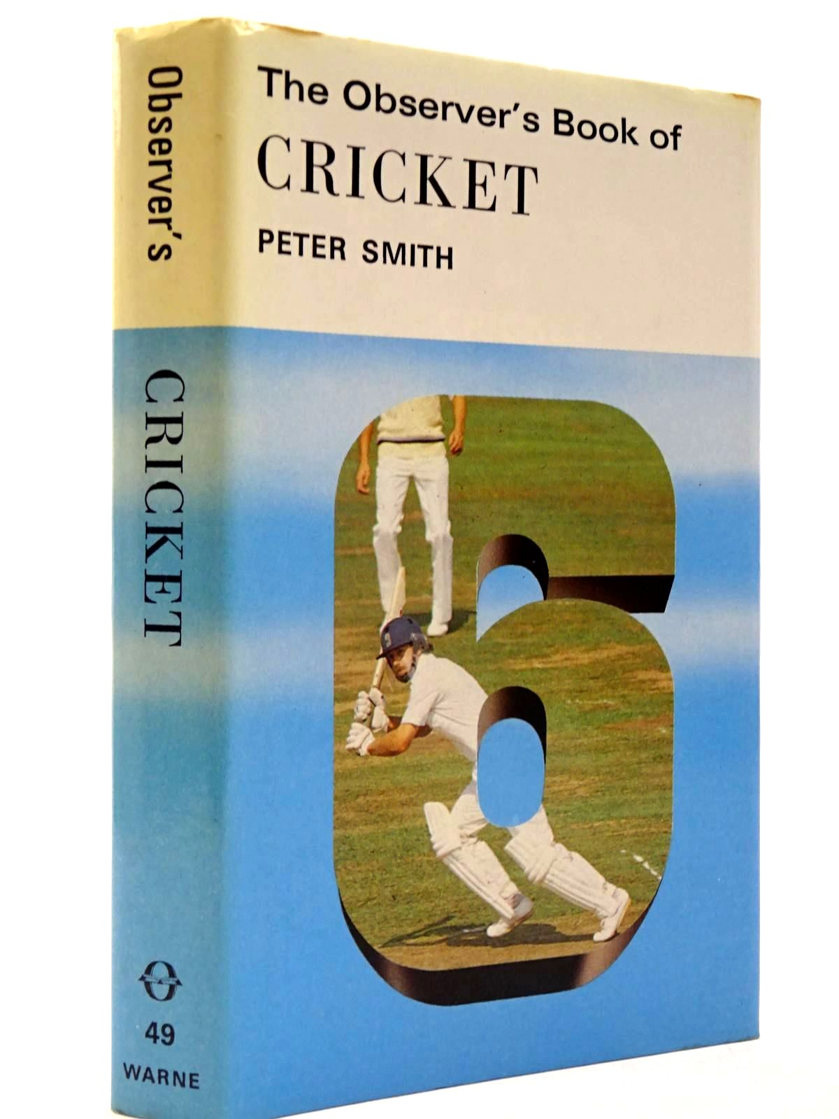 Photo of THE OBSERVER'S BOOK OF CRICKET (CYANAMID WRAPPER) written by Smith, Peter published by Frederick Warne & Co Ltd. (STOCK CODE: 2130415)  for sale by Stella & Rose's Books
