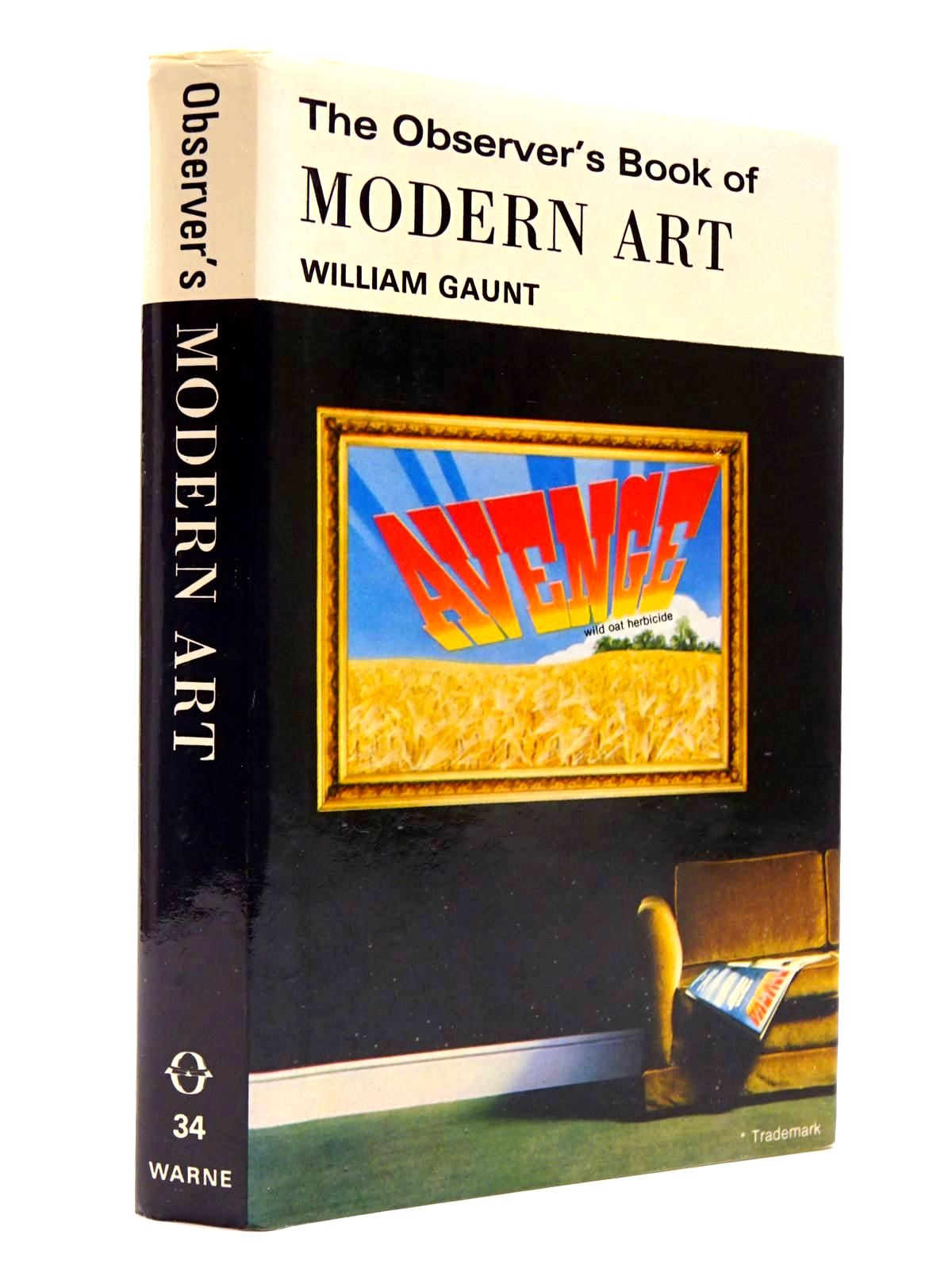 Photo of THE OBSERVER'S BOOK OF MODERN ART (CYANAMID WRAPPER) written by Gaunt, William published by Frederick Warne & Co Ltd. (STOCK CODE: 2130419)  for sale by Stella & Rose's Books