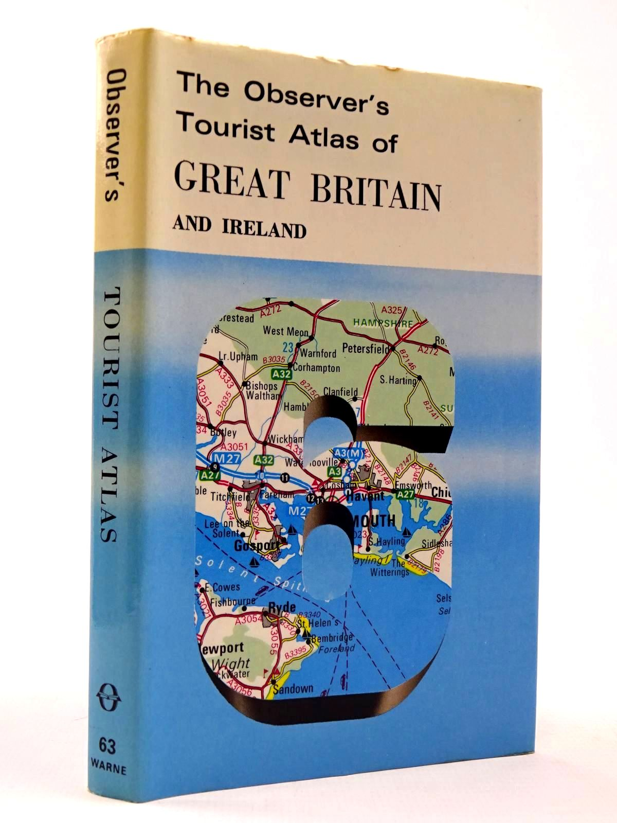 Photo of THE OBSERVER'S TOURIST ATLAS OF GREAT BRITAIN AND IRELAND (CYANAMID WRAPPER)- Stock Number: 2130420