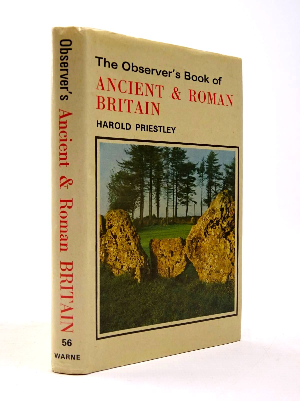 Photo of THE OBSERVER'S BOOK OF ANCIENT AND ROMAN BRITAIN written by Priestley, Harold published by Frederick Warne & Co Ltd. (STOCK CODE: 2130433)  for sale by Stella & Rose's Books