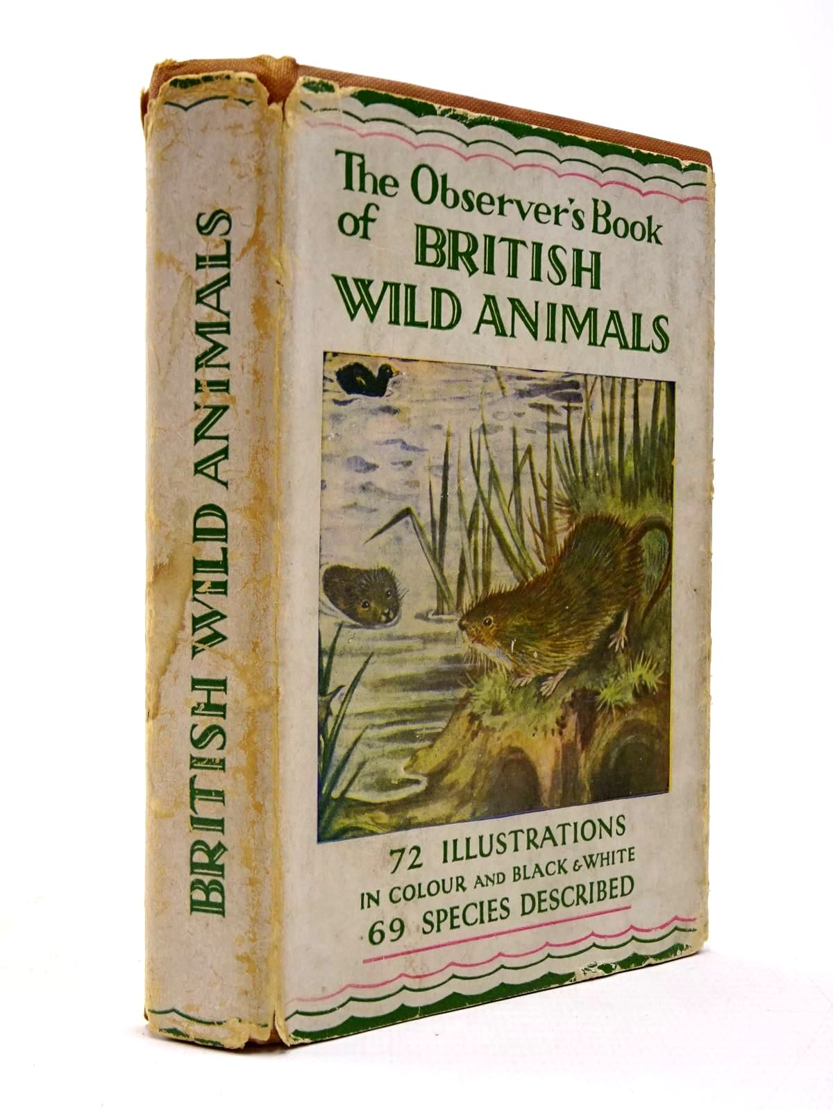 Photo of THE OBSERVER'S BOOK OF BRITISH WILD ANIMALS- Stock Number: 2130434