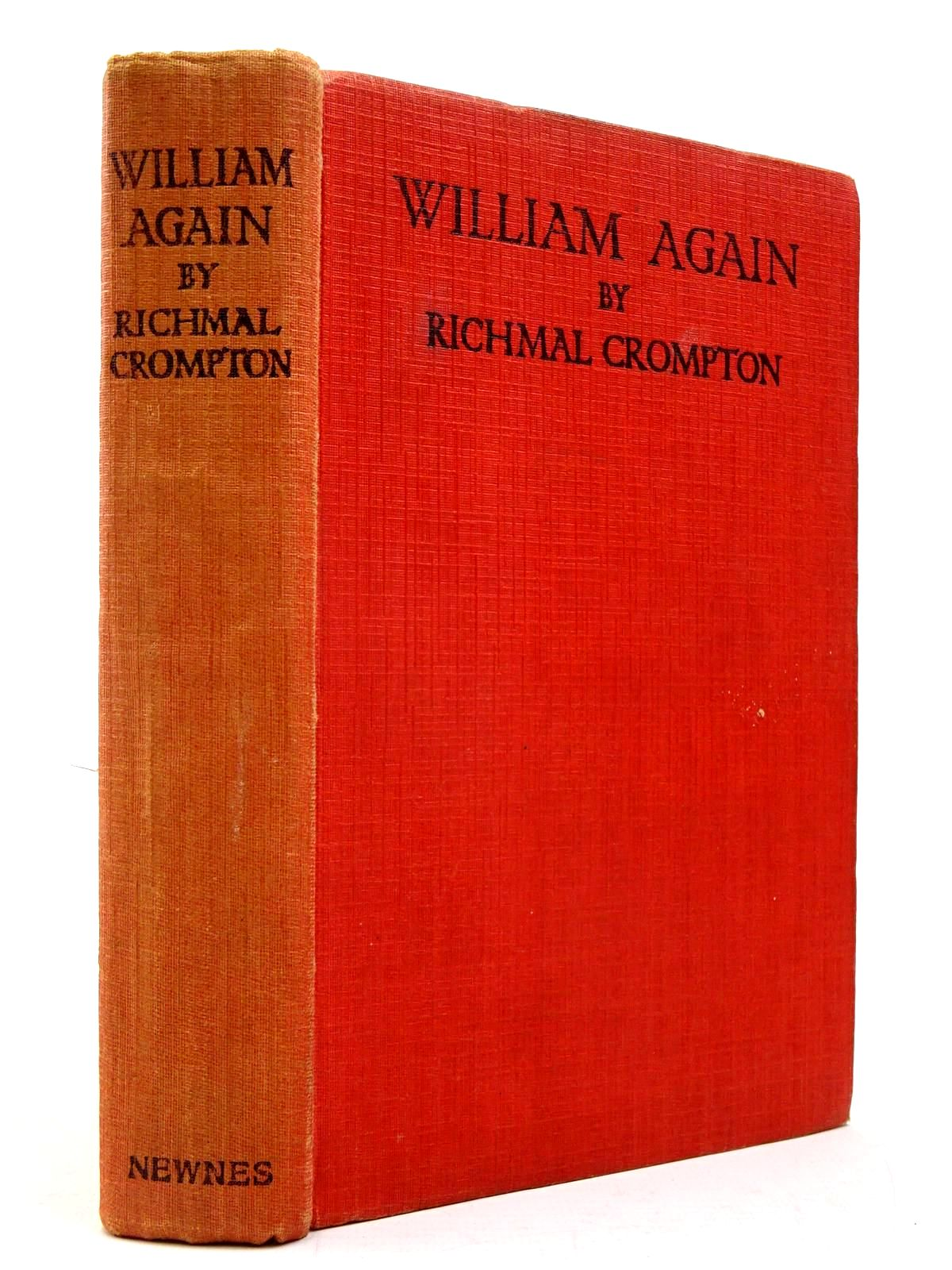 Photo of WILLIAM AGAIN written by Crompton, Richmal illustrated by Henry, Thomas published by George Newnes Ltd. (STOCK CODE: 2130437)  for sale by Stella & Rose's Books