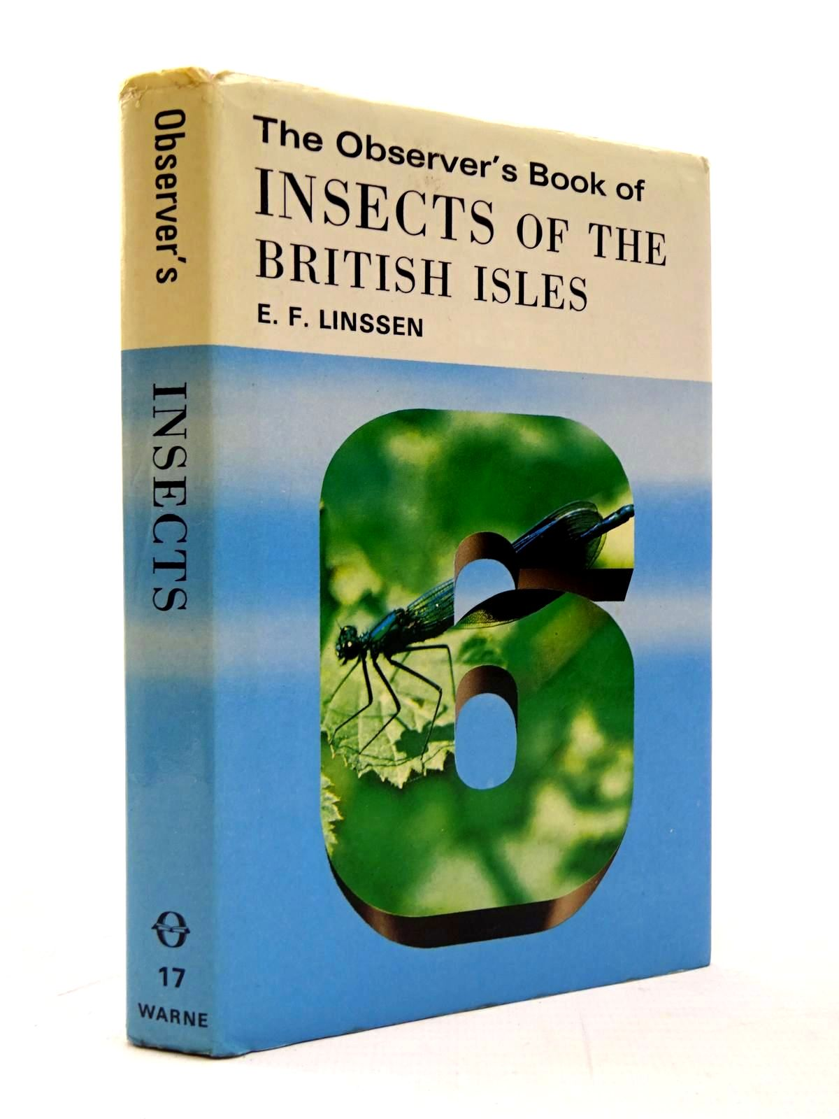 Photo of THE OBSERVER'S BOOK OF INSECTS OF THE BRITISH ISLES (CYANAMID WRAPPER)- Stock Number: 2130454
