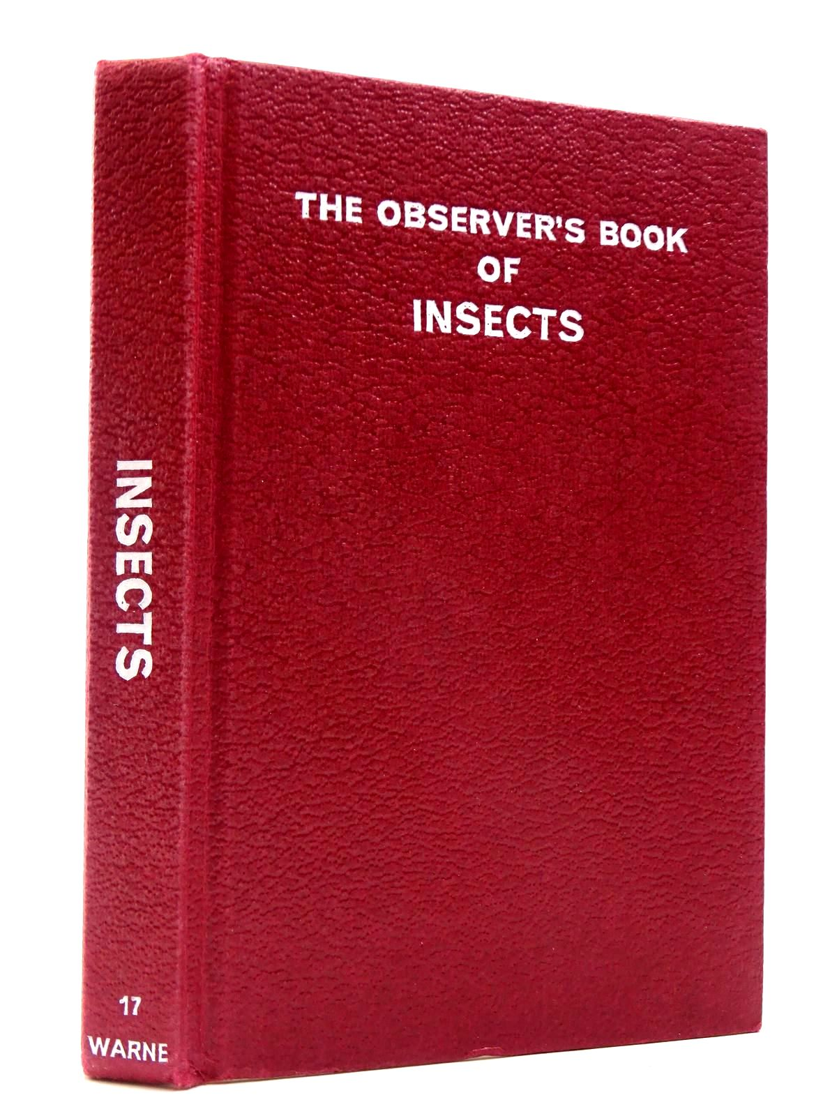 Photo of THE OBSERVER'S BOOK OF INSECTS OF THE BRITISH ISLES (CYANAMID WRAPPER) written by Linssen, E.F. illustrated by Riley, Gordon published by Frederick Warne (STOCK CODE: 2130454)  for sale by Stella & Rose's Books