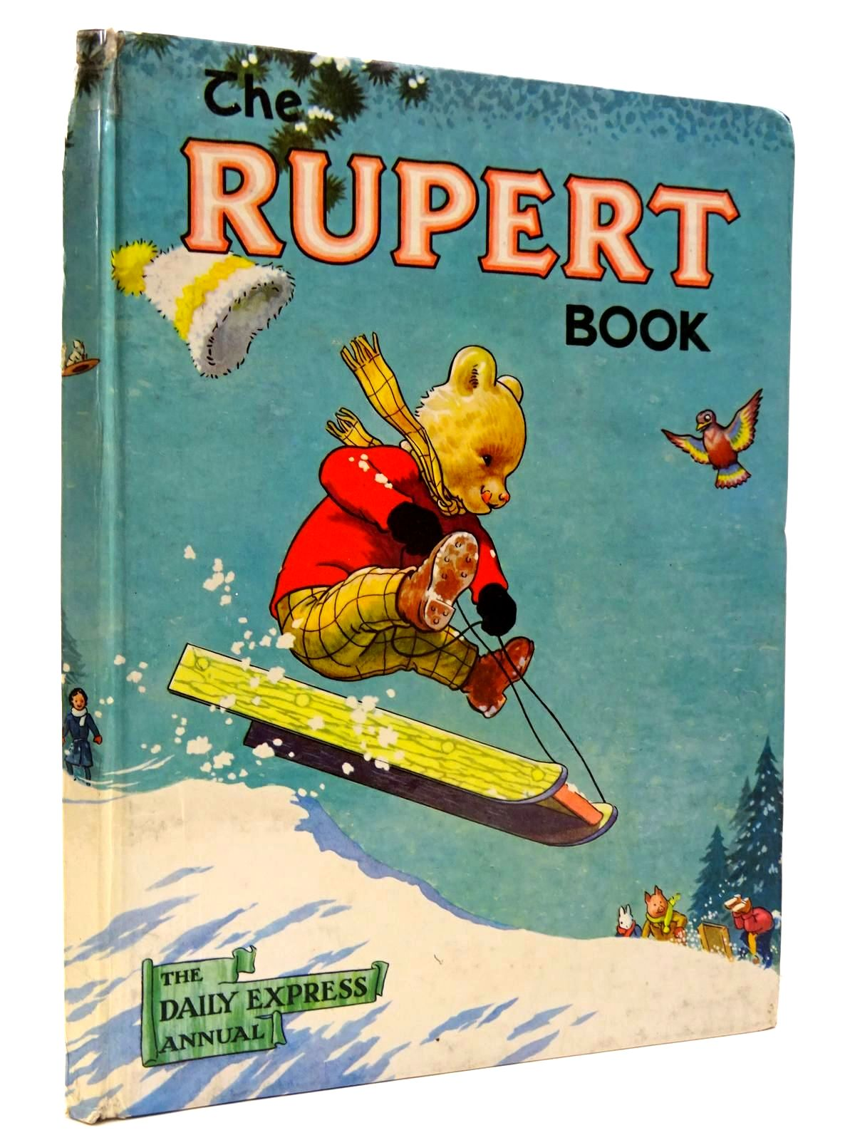 Photo of RUPERT ANNUAL 1956 - THE RUPERT BOOK- Stock Number: 2130458