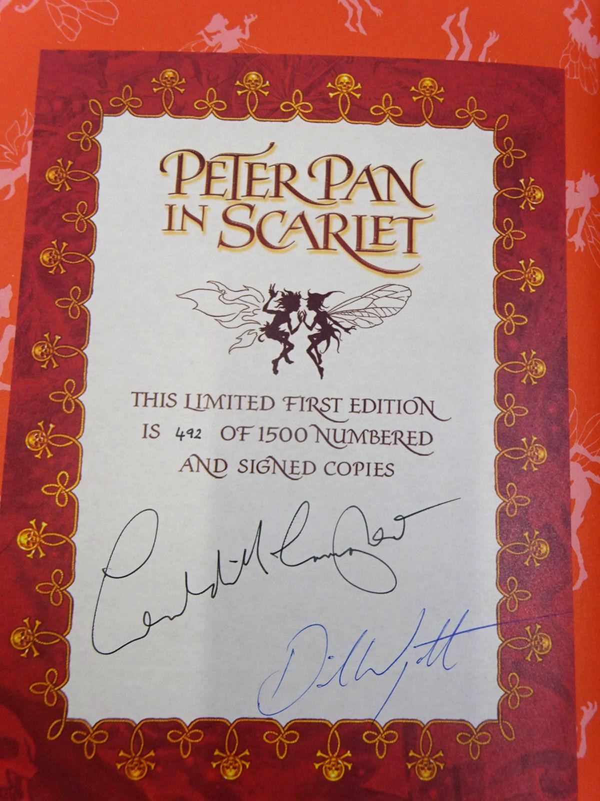 Photo of PETER PAN IN SCARLET written by McCaughrean, Geraldine illustrated by Wyatt, David published by Oxford University Press (STOCK CODE: 2130465)  for sale by Stella & Rose's Books