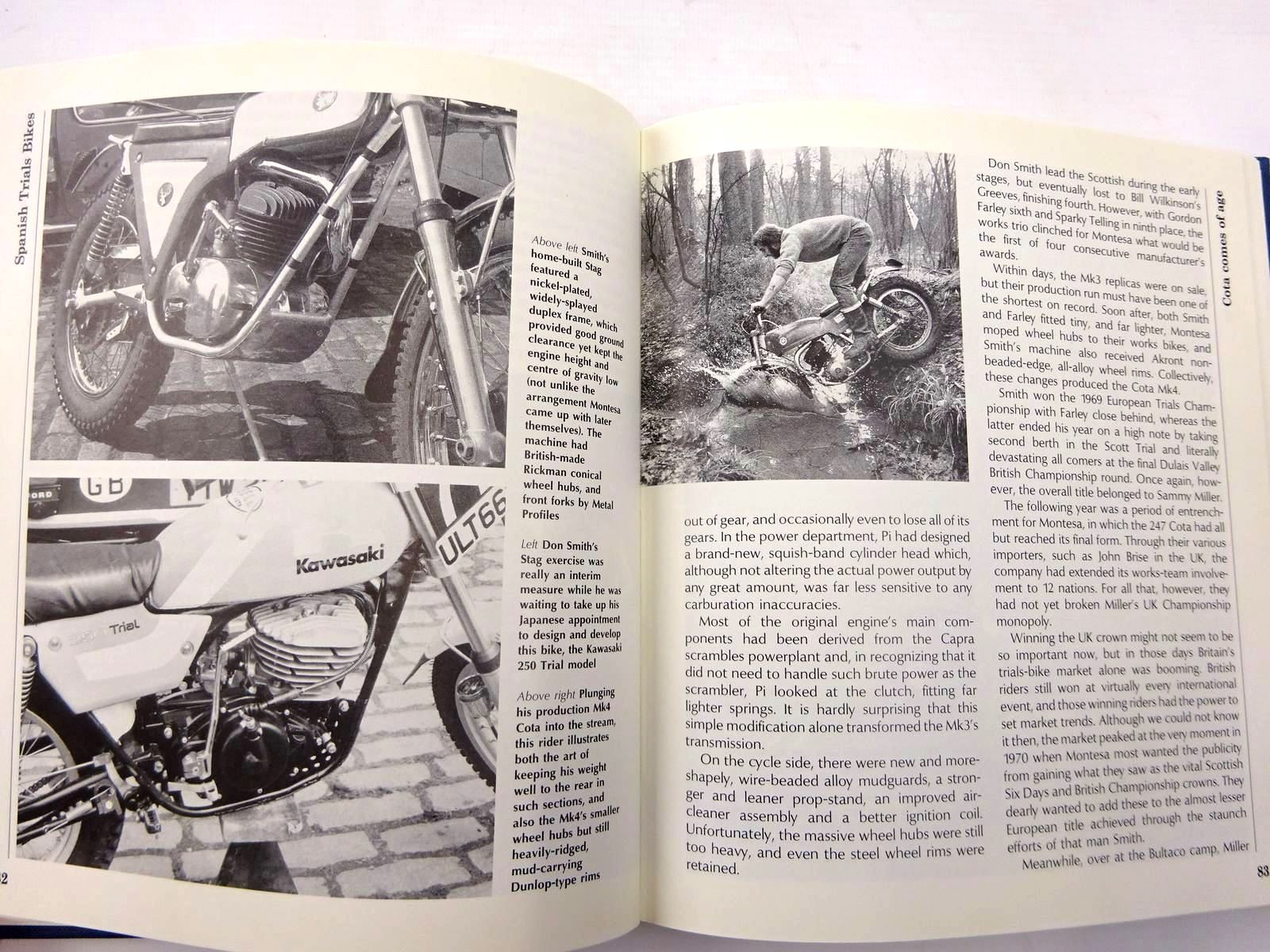 Photo of SPANISH TRIALS BIKES written by Morley, Don published by Osprey Publishing (STOCK CODE: 2130468)  for sale by Stella & Rose's Books