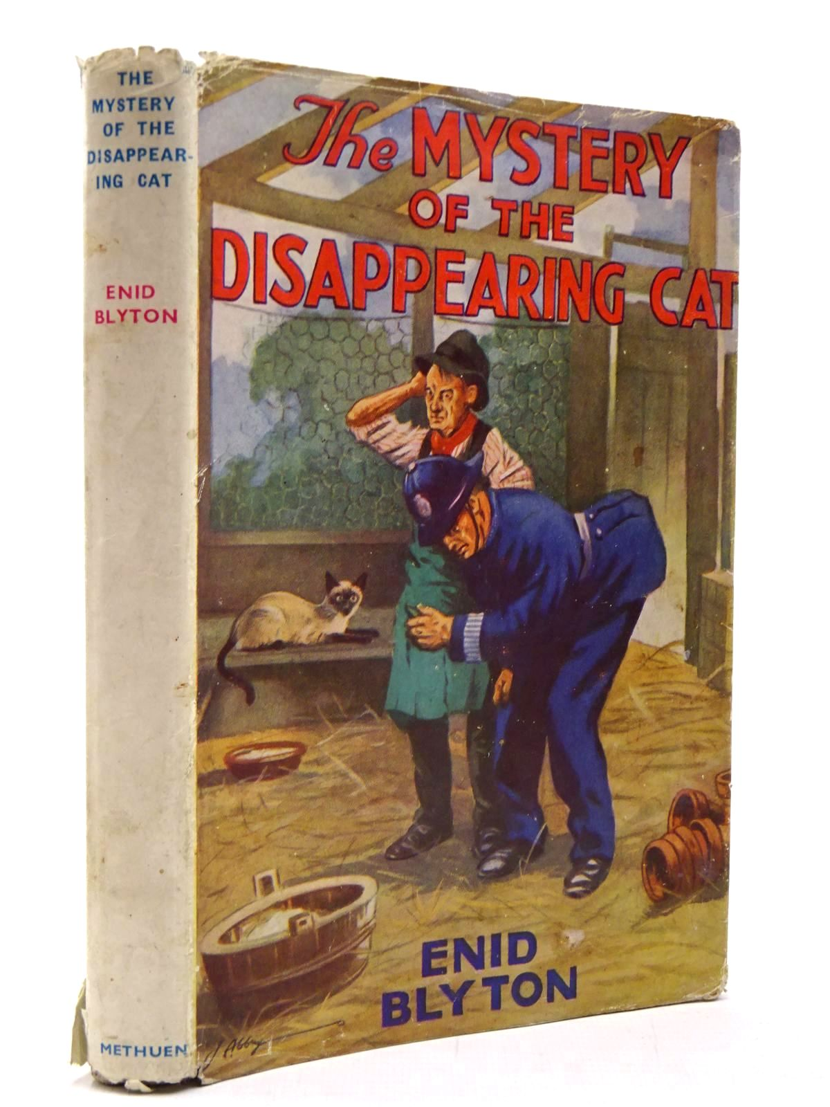 Photo of THE MYSTERY OF THE DISAPPEARING CAT written by Blyton, Enid illustrated by Abbey, J. published by Methuen & Co. Ltd. (STOCK CODE: 2130540)  for sale by Stella & Rose's Books