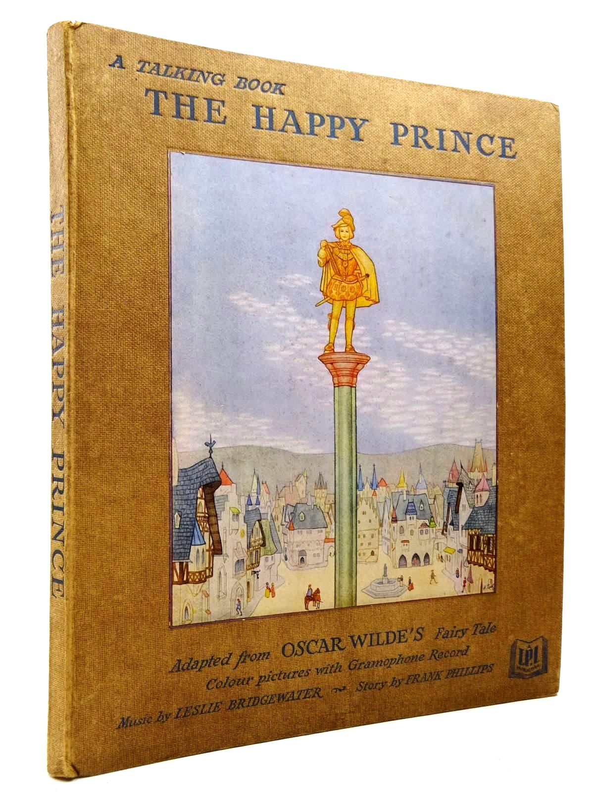 Photo of THE HAPPY PRINCE A TALKING BOOK written by Wilde, Oscar<br />Lake, Minnie illustrated by Paul, H. published by Horace Marshall &amp; Son Ltd. (STOCK CODE: 2130567)  for sale by Stella & Rose's Books