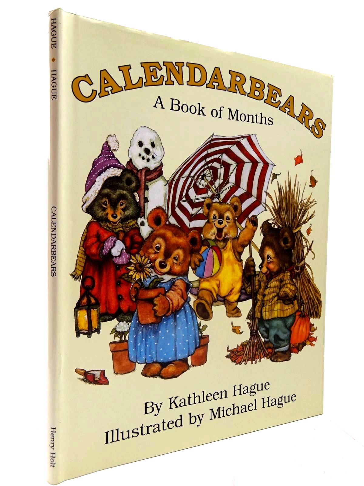 Photo of CALEDARBEARS A BOOK OF MONTHS- Stock Number: 2130599