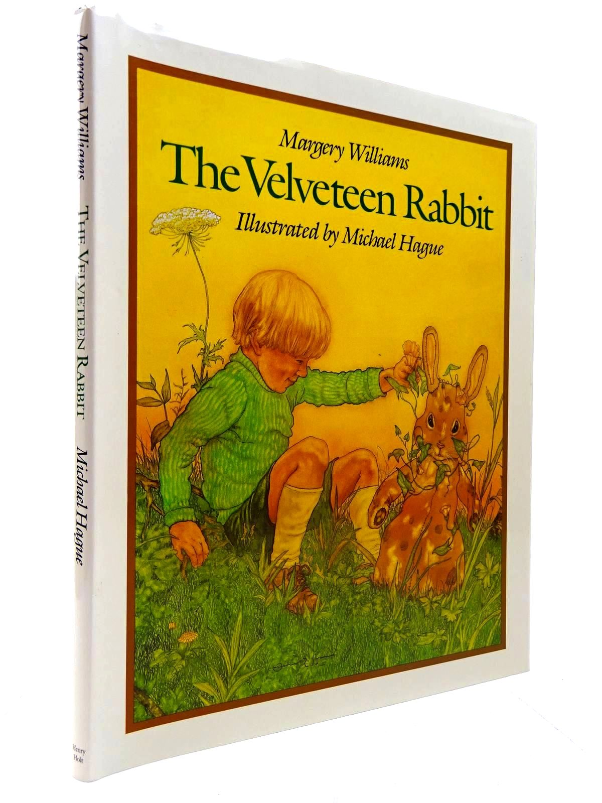 Photo of THE VELVETEEN RABBIT written by Williams, Margery illustrated by Hague, Michael published by Henry Holt and Company (STOCK CODE: 2130609)  for sale by Stella & Rose's Books
