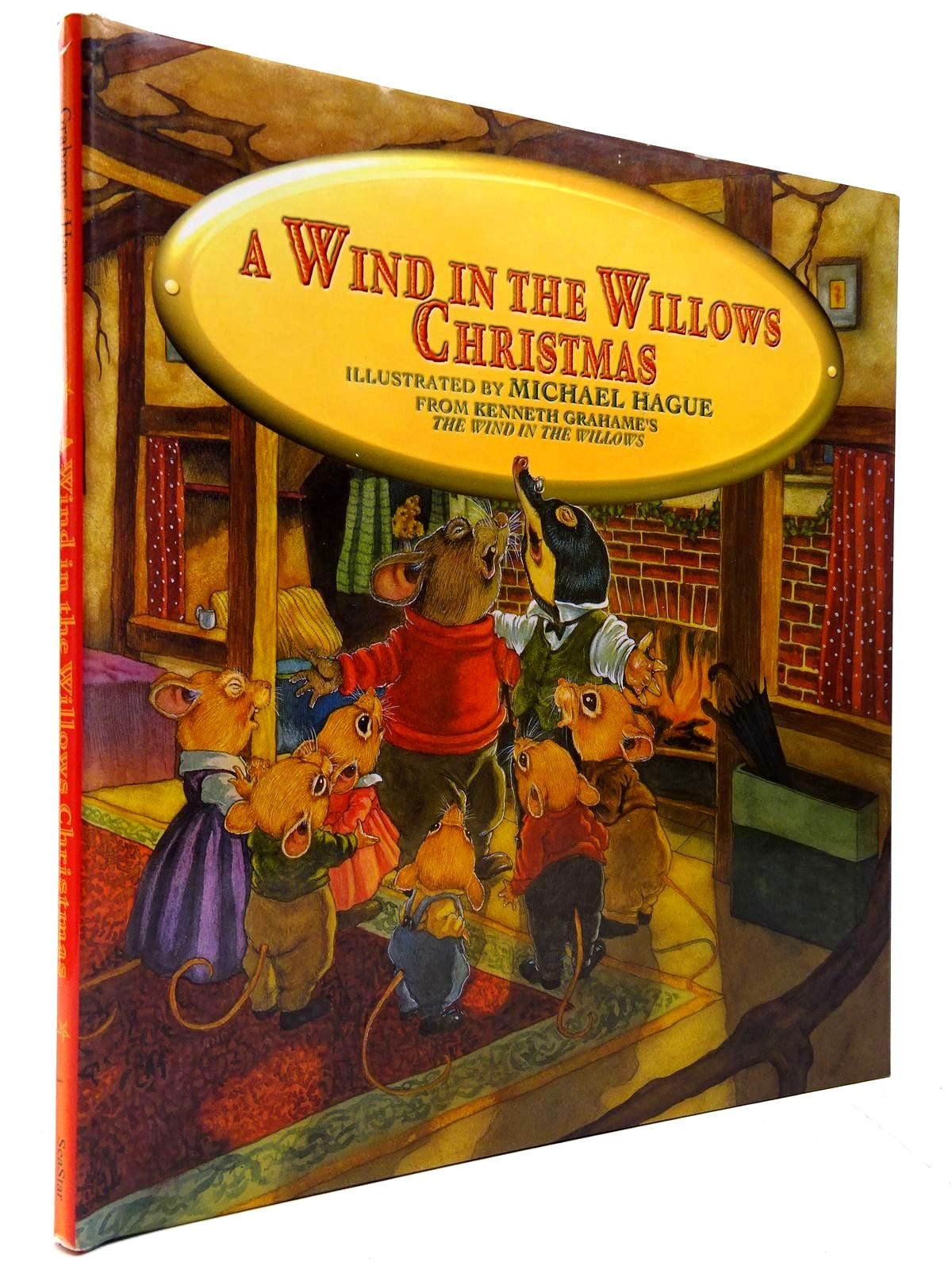 Photo of A WIND IN THE WILLOWS CHRISTMAS written by Grahame, Kenneth illustrated by Hague, Michael published by SeaStar Books (STOCK CODE: 2130610)  for sale by Stella & Rose's Books