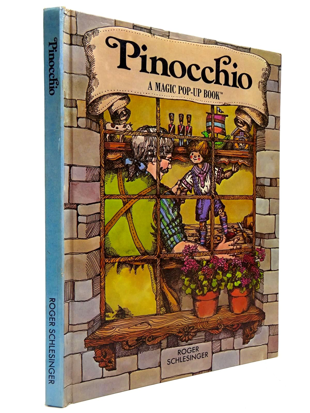 Photo of PINOCCHIO A MAGIC POP-UP BOOK illustrated by Griffith, Linda published by Roger Schlesinger (STOCK CODE: 2130611)  for sale by Stella & Rose's Books