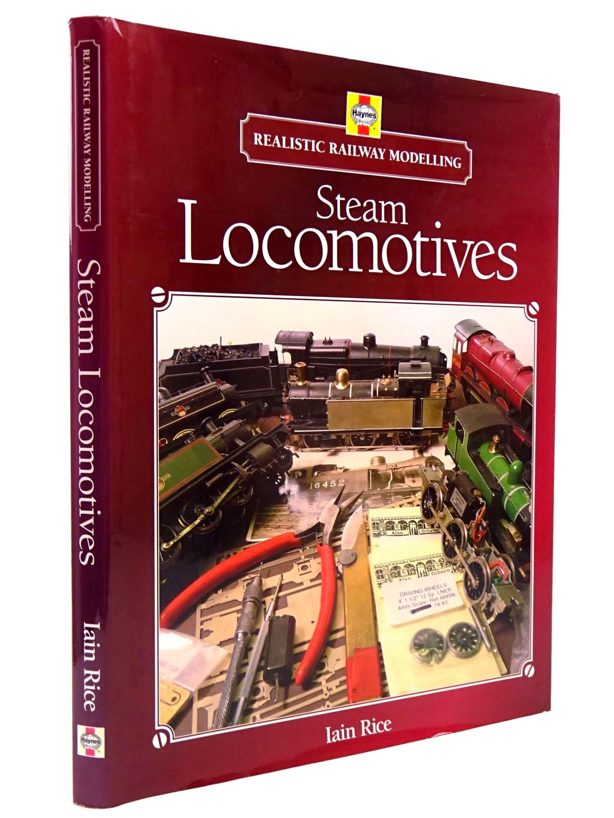 Photo of STEAM LOCOMOTIVES - REALISTIC RAILWAY MODELLING written by Rice, Iain published by Haynes (STOCK CODE: 2130619)  for sale by Stella & Rose's Books