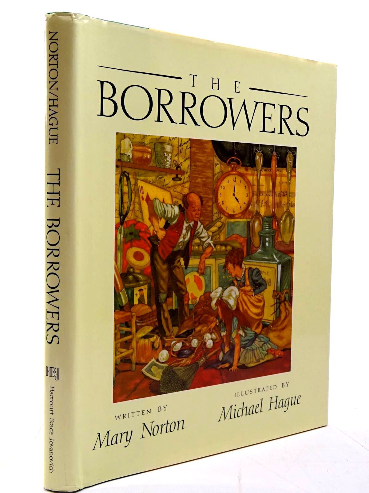 Photo of THE BORROWERS written by Norton, Mary illustrated by Hague, Michael published by Harcourt Brace Jovanovich, Publishers (STOCK CODE: 2130624)  for sale by Stella & Rose's Books
