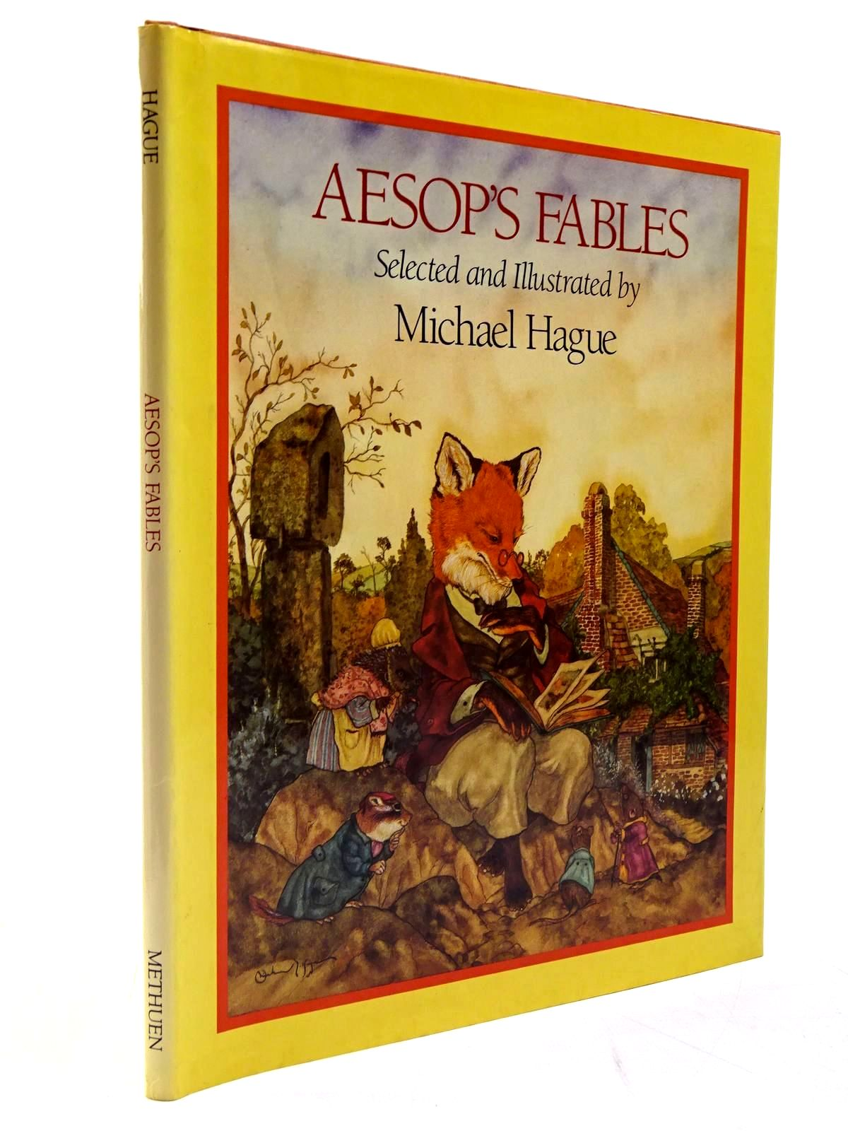 Photo of AESOP'S FABLES written by Aesop, <br />Hague, Michael illustrated by Hague, Michael published by Methuen Children's Books (STOCK CODE: 2130628)  for sale by Stella & Rose's Books